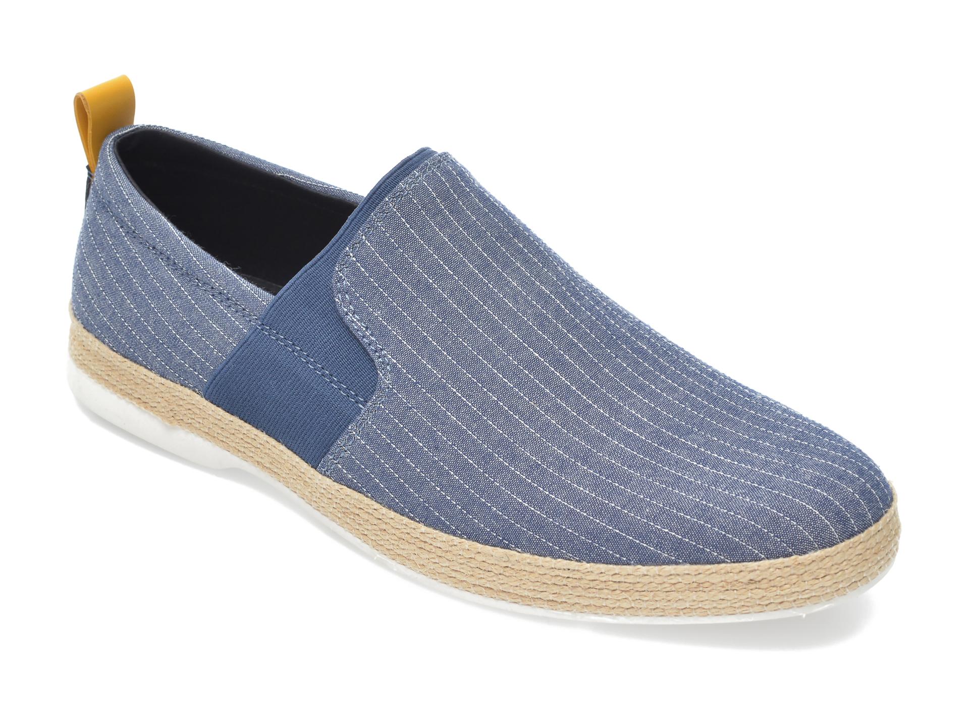 Espadrile ALDO bleumarin, Hutch410, din material textil imagine