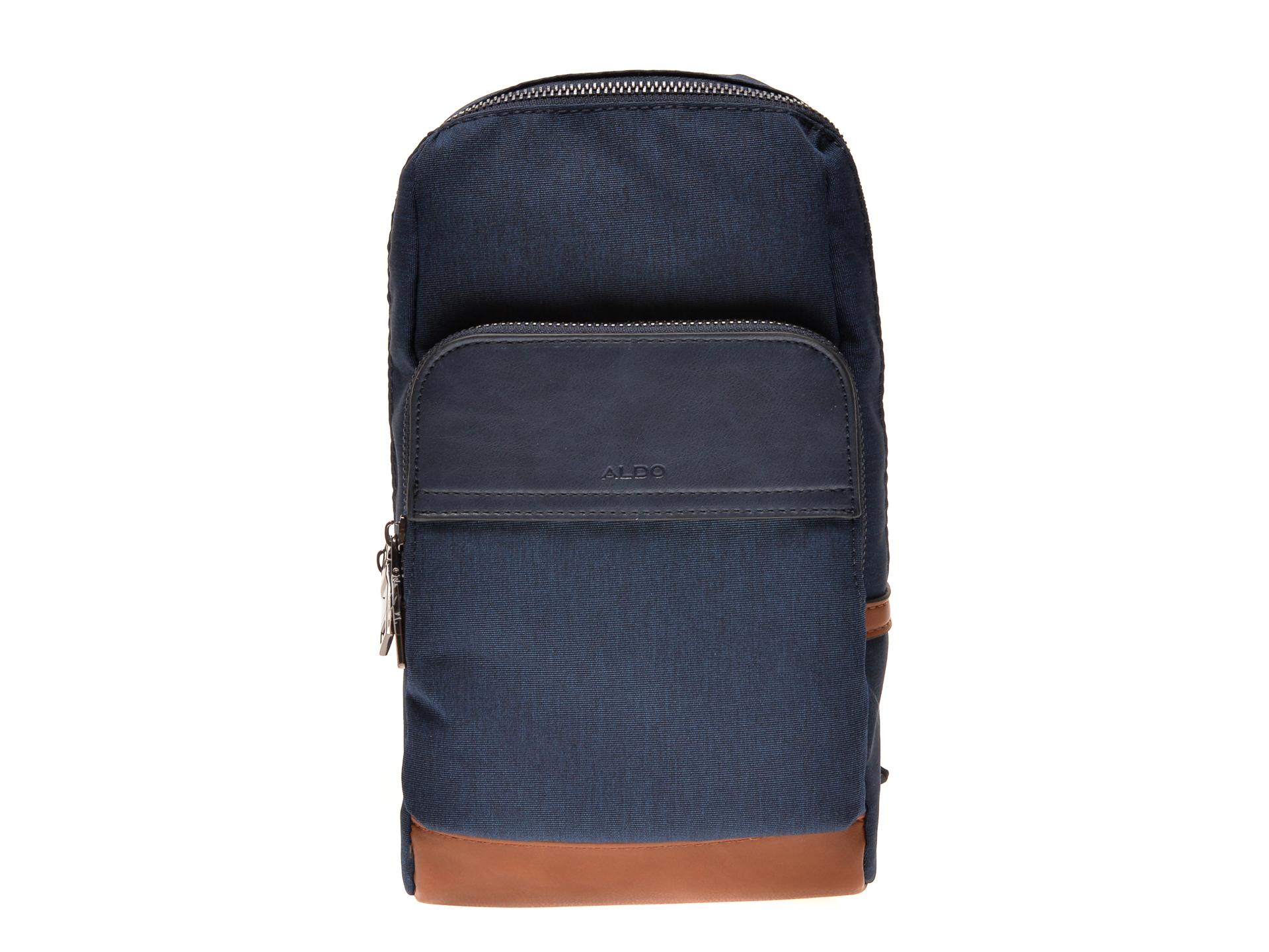 Geanta ALDO bleumarin, Marchat410, din material textil