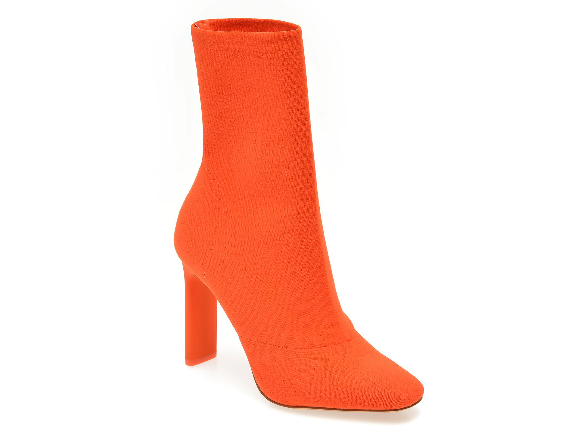 Ghete ALDO portocalii, Delylah600, din material textil imagine otter.ro 2021