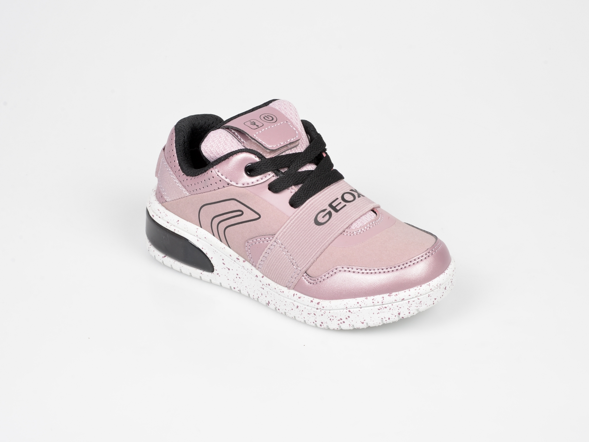 Pantofi Geox Roz, J928da, Din Piele Ecologica