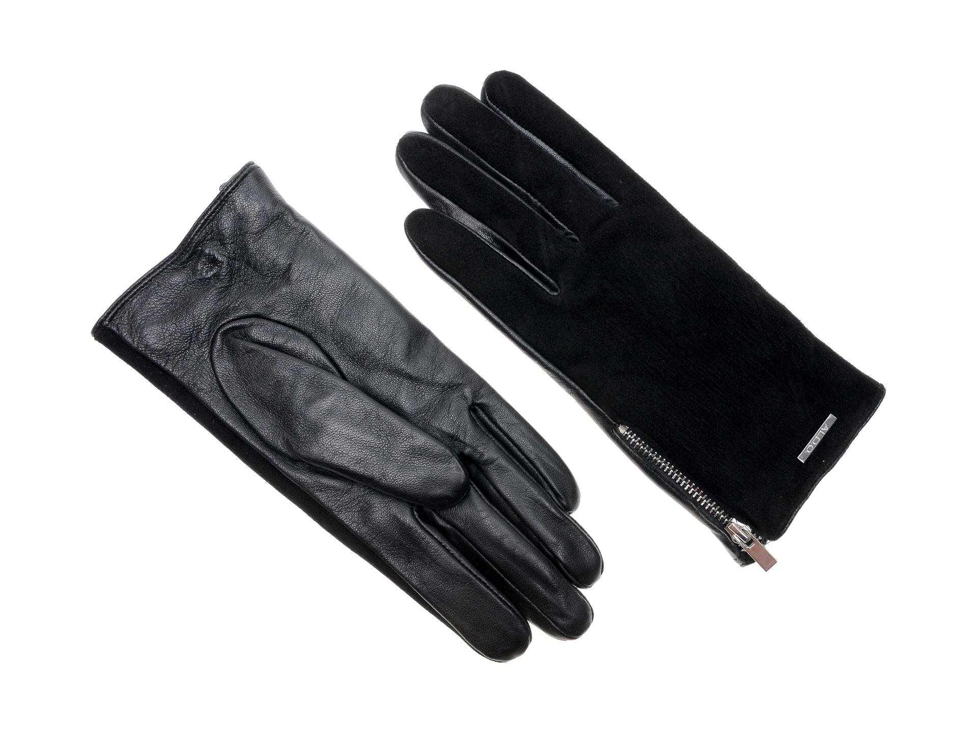 Manusi ALDO negre, Foinia001, din piele ecologica imagine