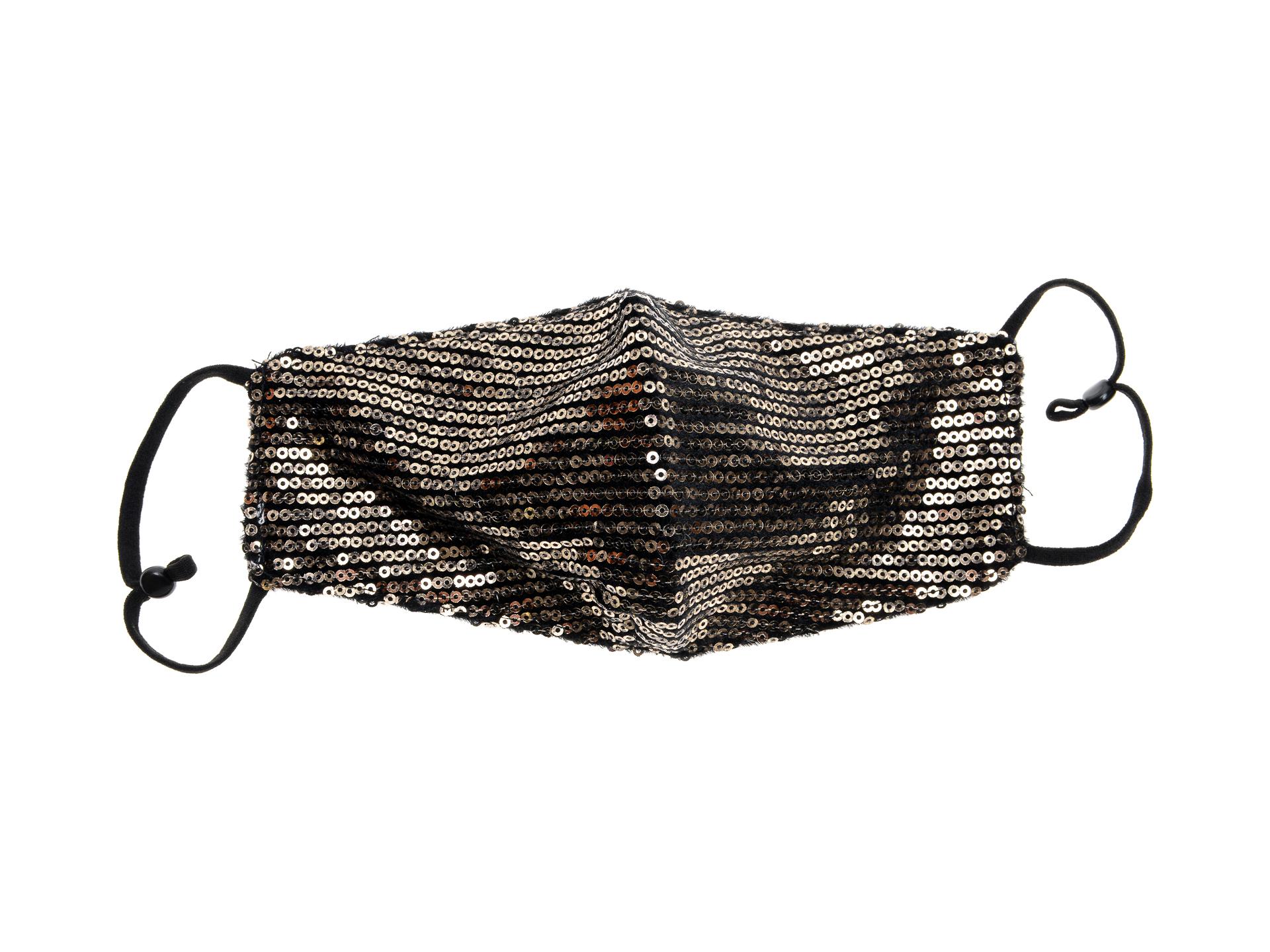 Masca ALDO bronz, Cremma222, din material textil imagine