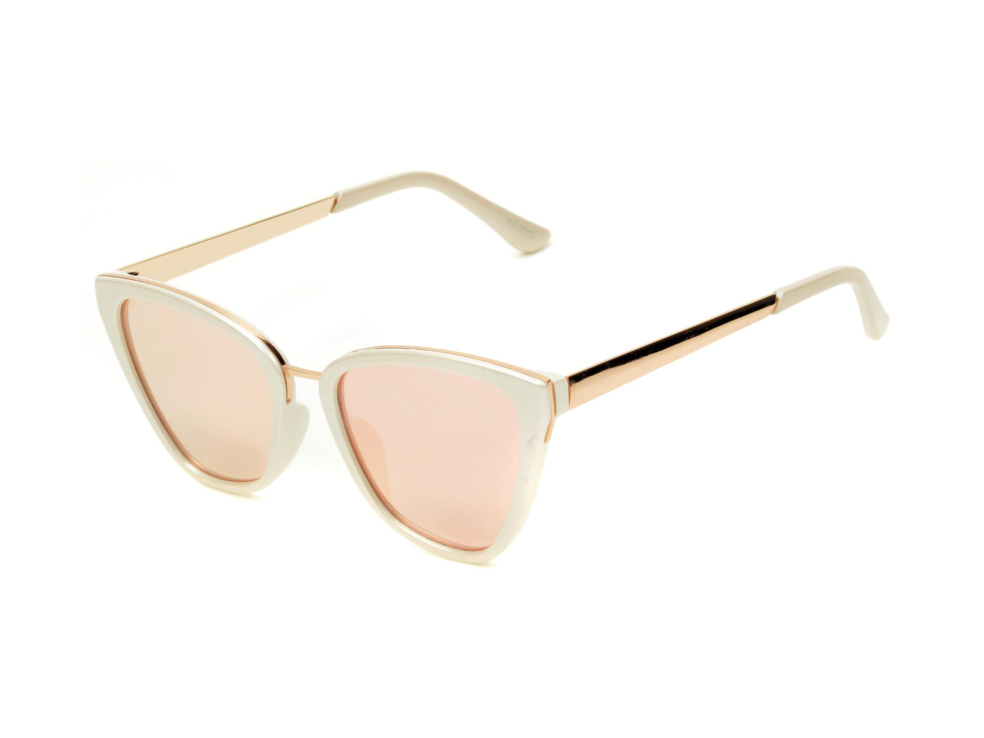 Ochelari de soare ALDO albi, Delna102, din PVC imagine