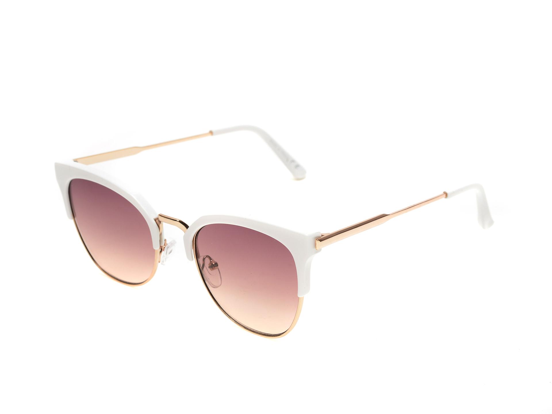 Ochelari de soare ALDO albi, Depera100, din PVC imagine