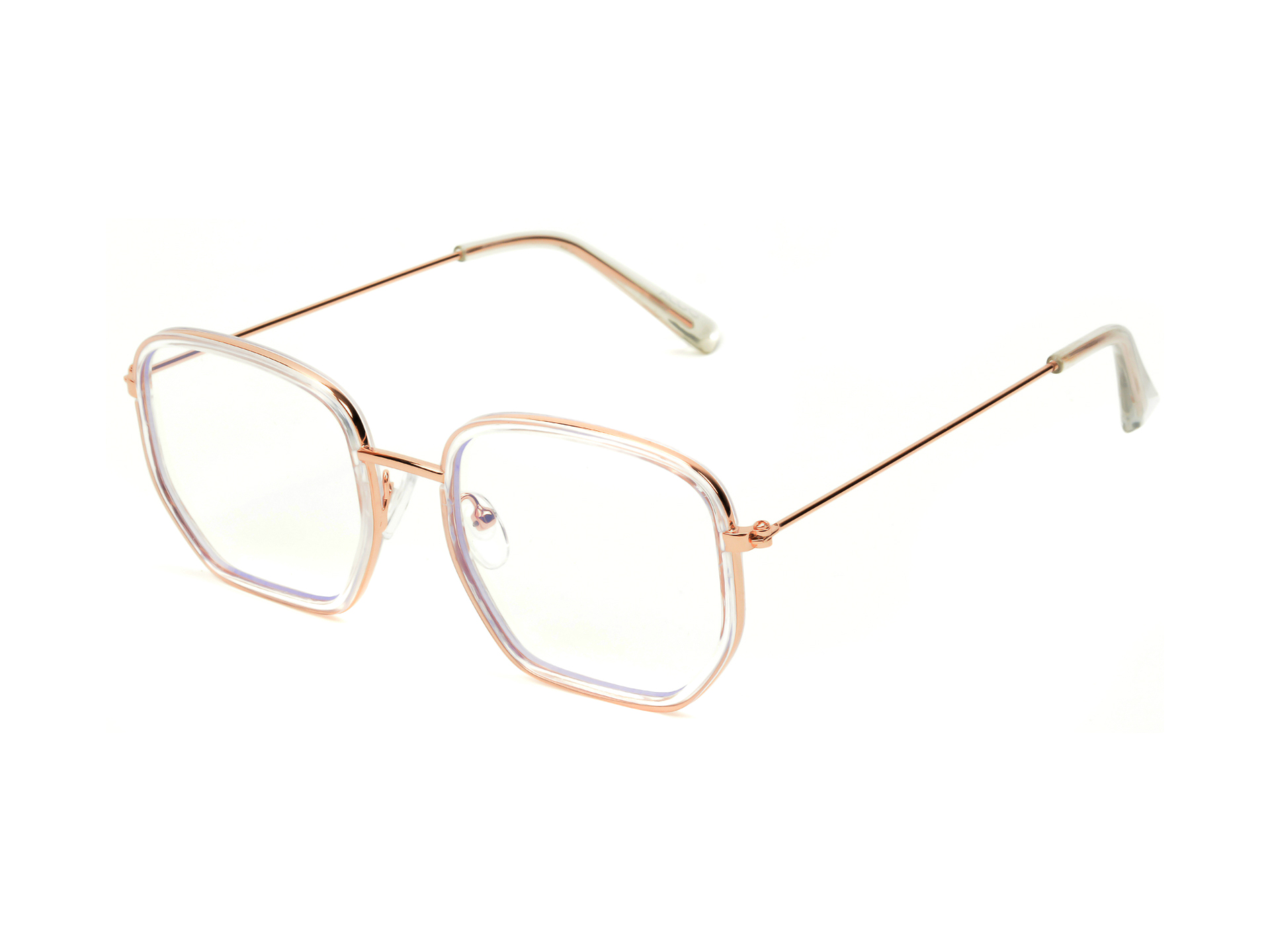 Ochelari de soare ALDO albi, Oligonna103, din PVC imagine