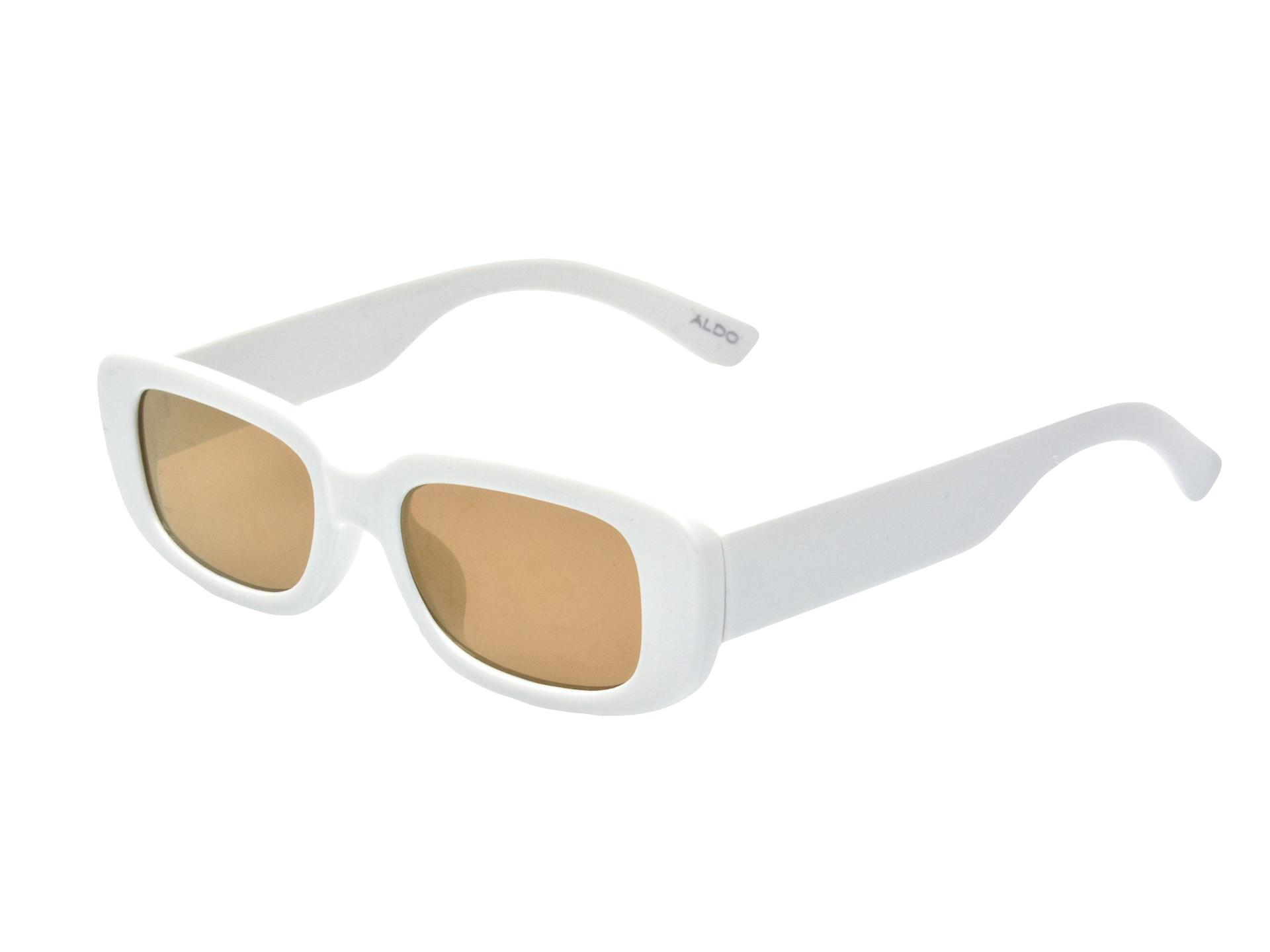 Ochelari de soare ALDO albi, Oloarwen100, din pvc imagine otter.ro 2021