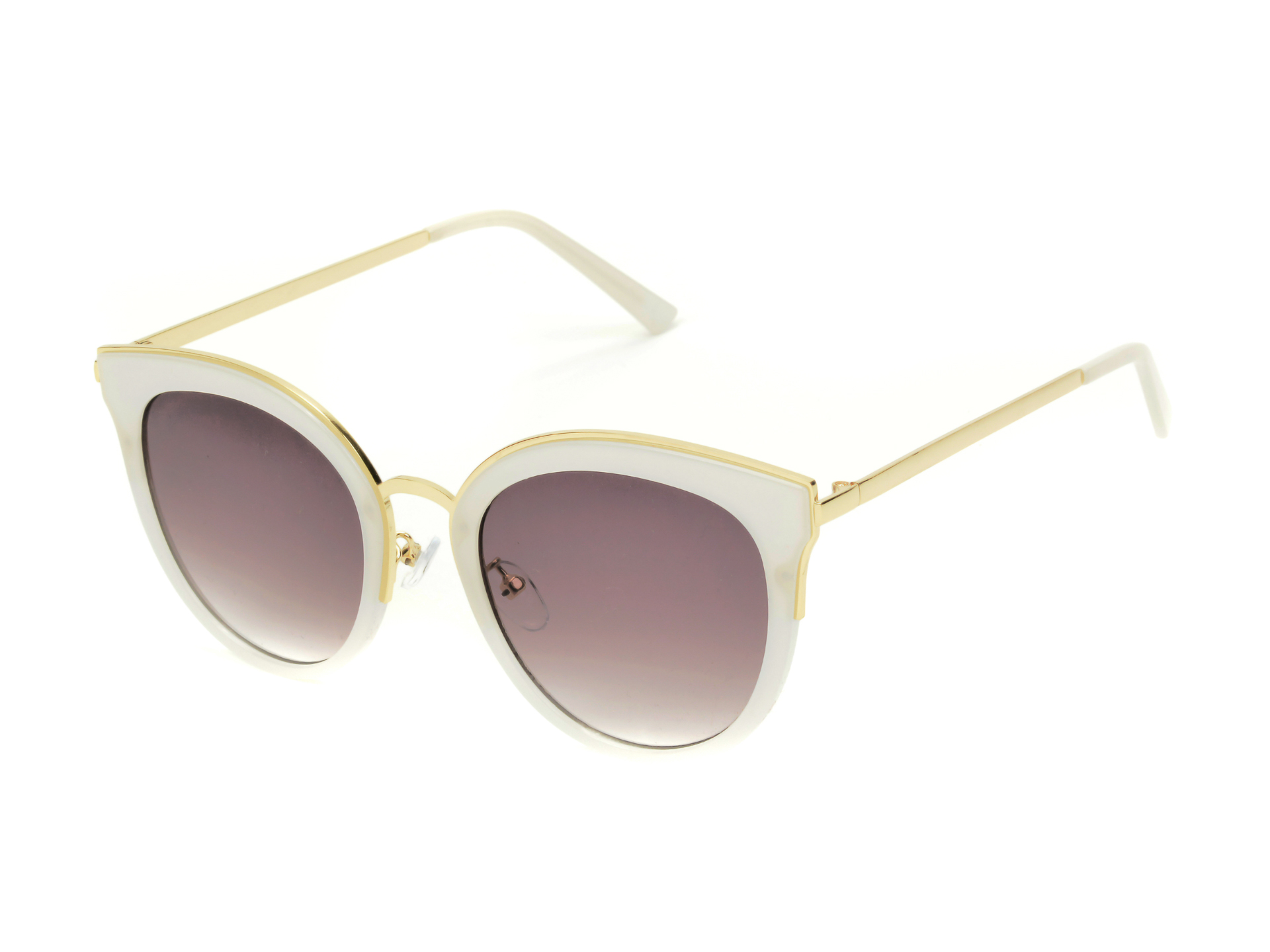 Ochelari de soare ALDO albi, Servaes100, din PVC imagine