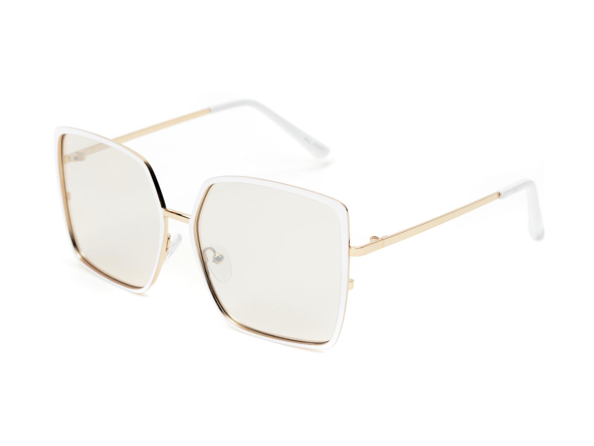 Ochelari de soare ALDO albi, Welterlaan100, din PVC imagine