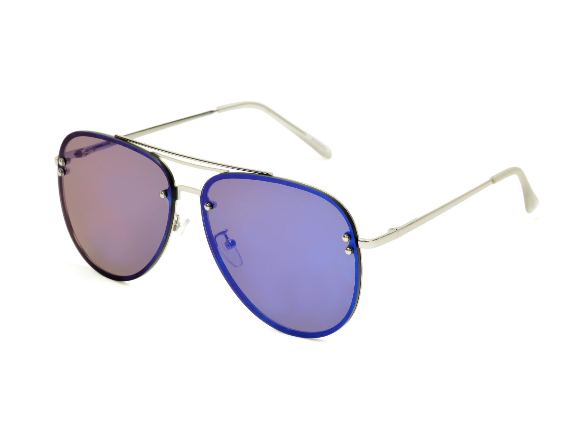 Ochelari de soare ALDO argintii, Horeven040, din PVC imagine otter.ro