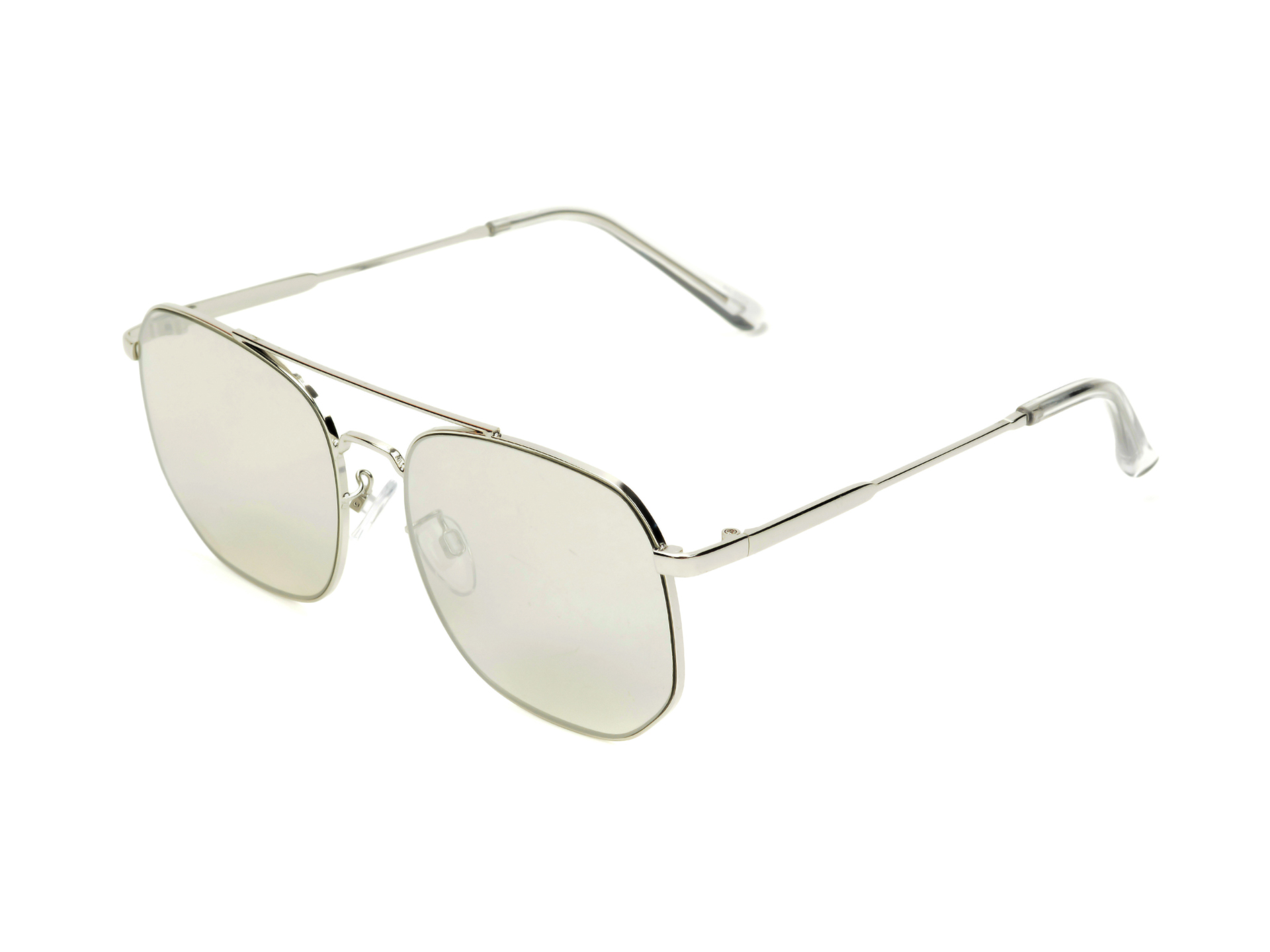 Ochelari de soare ALDO argintii, Magor040, din PVC imagine