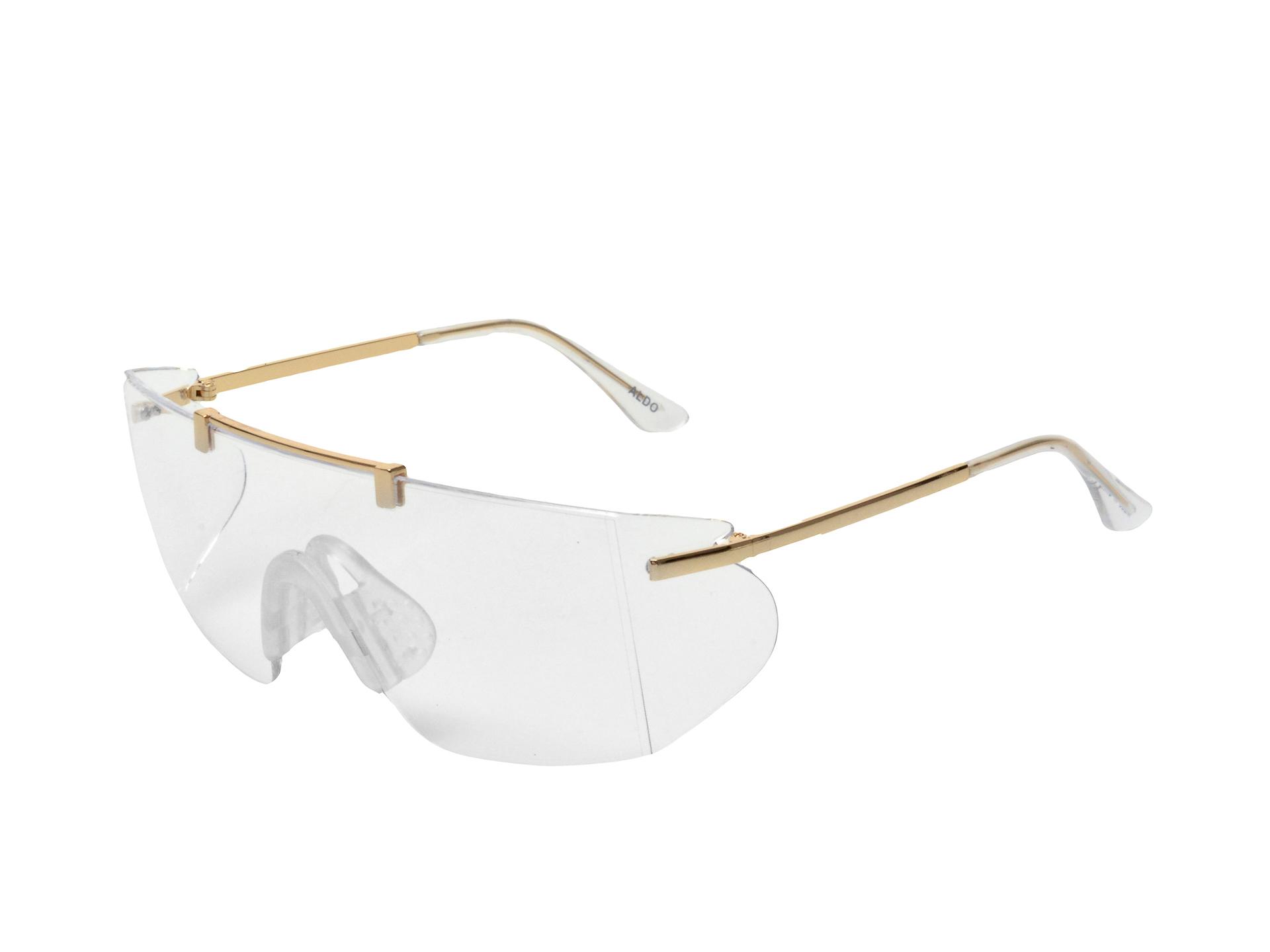 Ochelari de soare ALDO aurii, Gwenania710, din pvc imagine otter.ro 2021