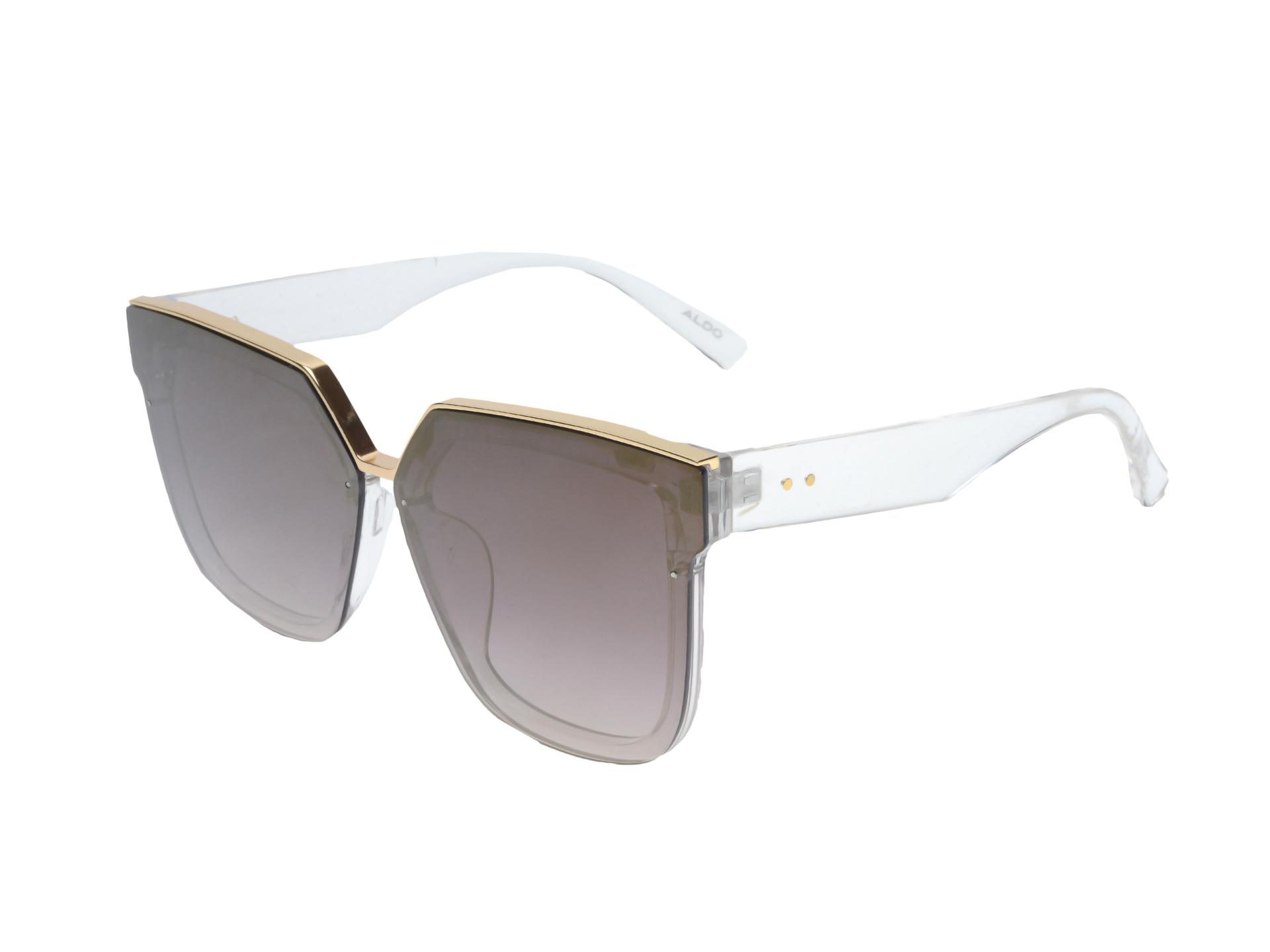 Ochelari de soare ALDO gri, Araxi103, din plastic imagine