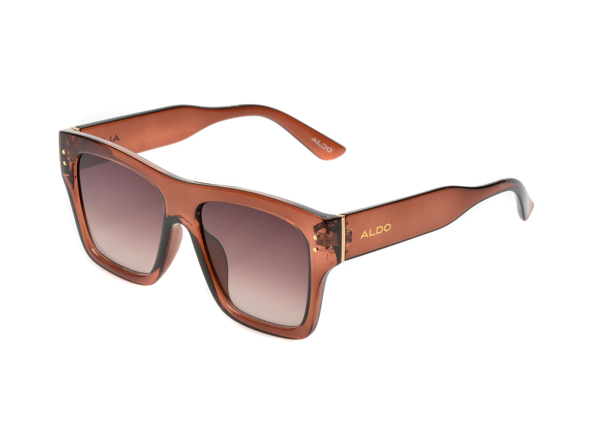 Ochelari de soare ALDO maro, 13087806, din pvc imagine otter.ro 2021