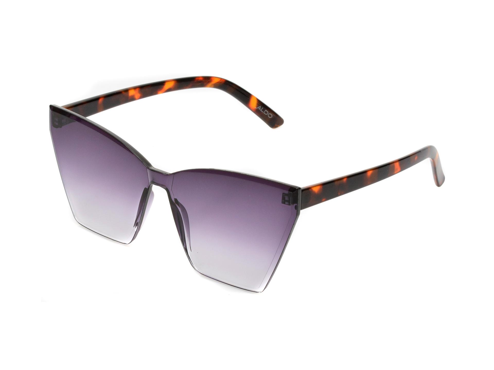 Ochelari de soare ALDO maro, 13087892, din pvc imagine otter.ro 2021