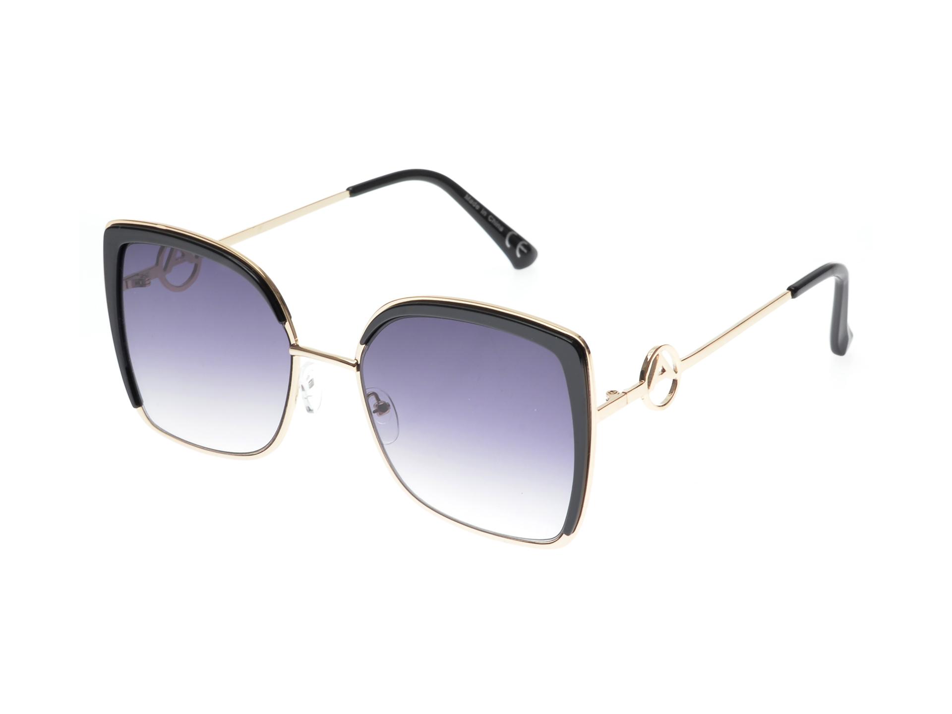 Ochelari de soare ALDO negri, 13051954, din pvc imagine