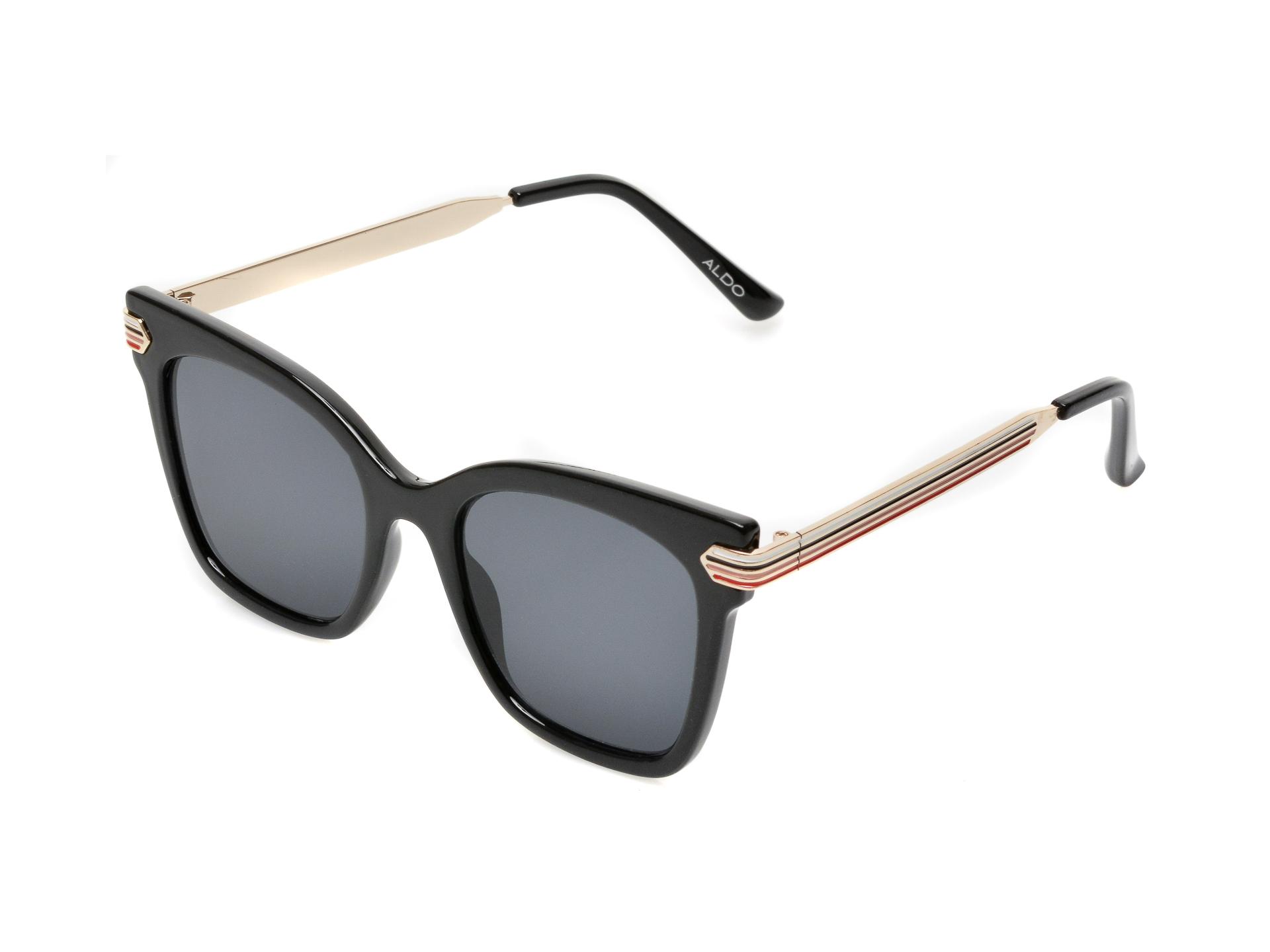 Ochelari de soare ALDO negri, 13087592, din pvc imagine otter.ro 2021