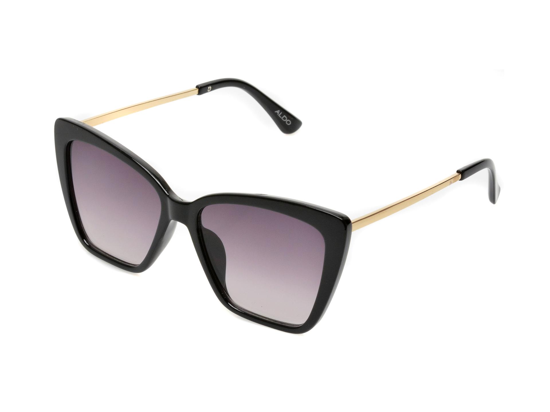 Ochelari de soare ALDO negri, 13087882, din pvc imagine otter.ro 2021
