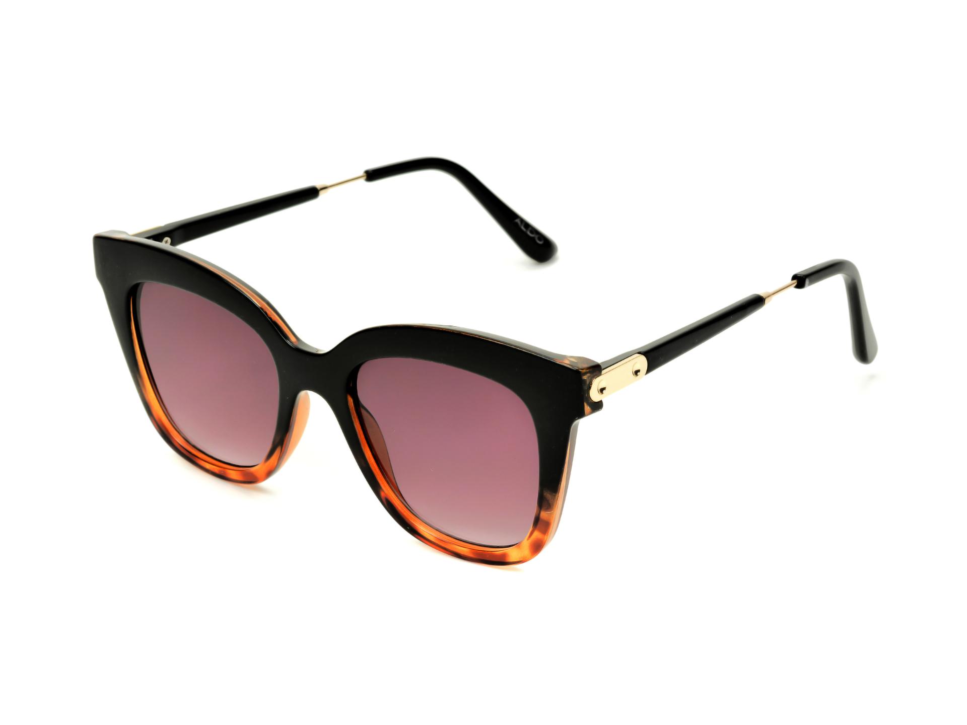 Ochelari de soare ALDO negri, Blingky970, din PVC imagine otter.ro