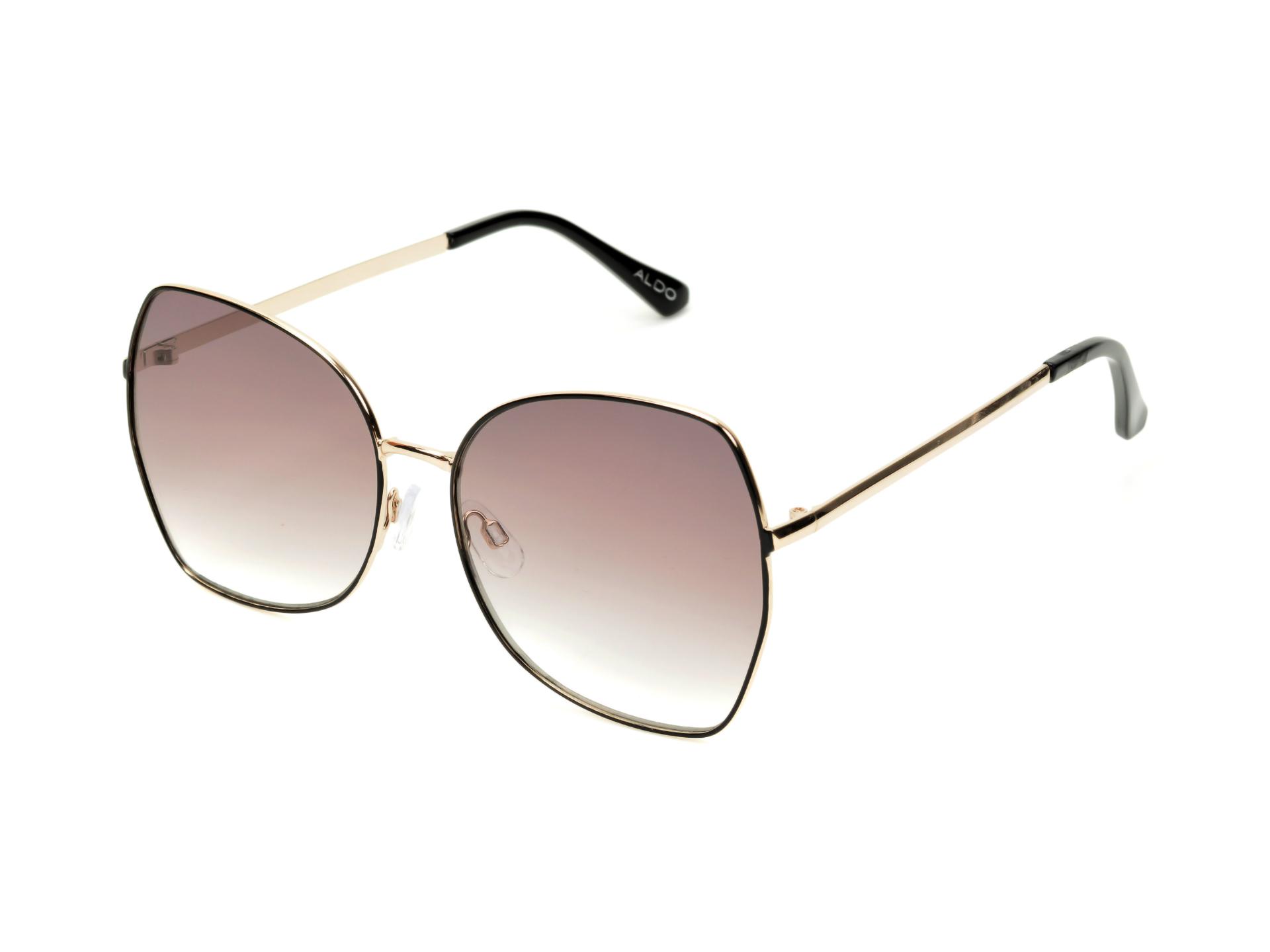 Ochelari de soare ALDO negri, Inornata970, din PVC imagine otter.ro