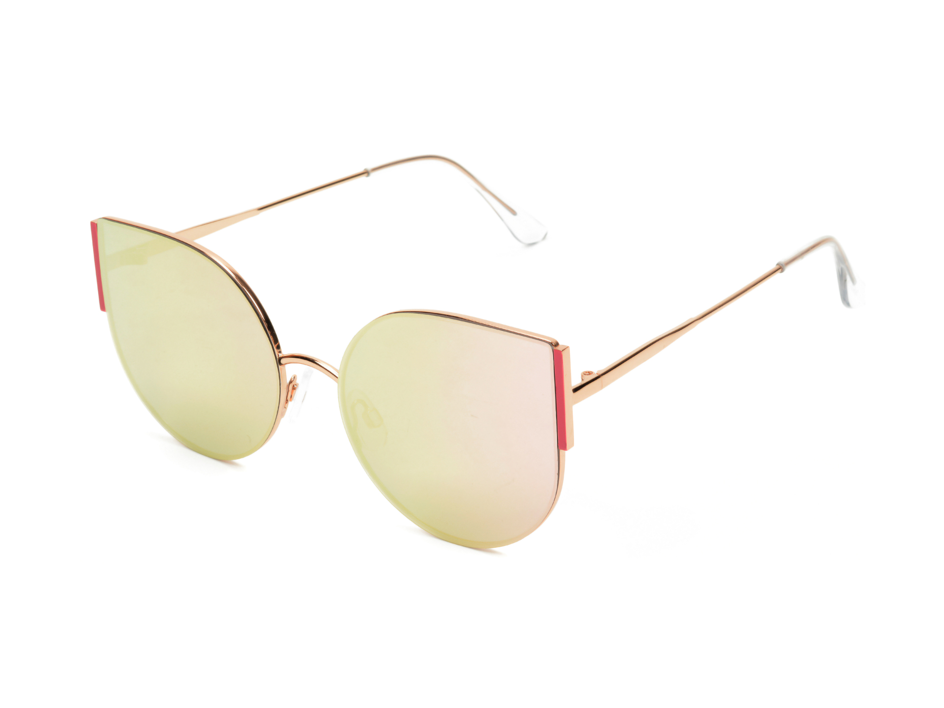 Ochelari de soare ALDO roz, Nellia650, din PVC New