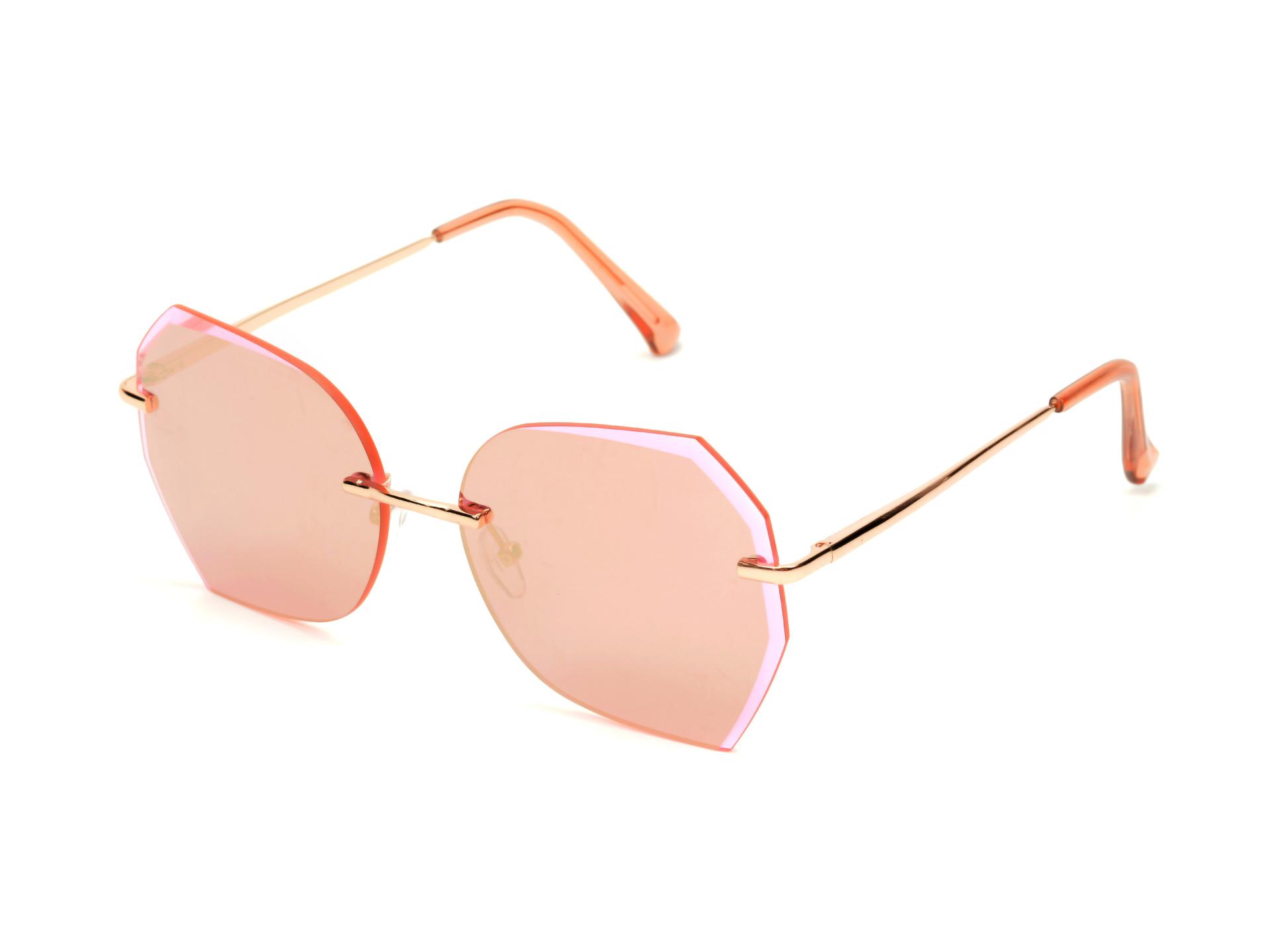 Ochelari de soare ALDO roz, Songbird653, din PVC imagine