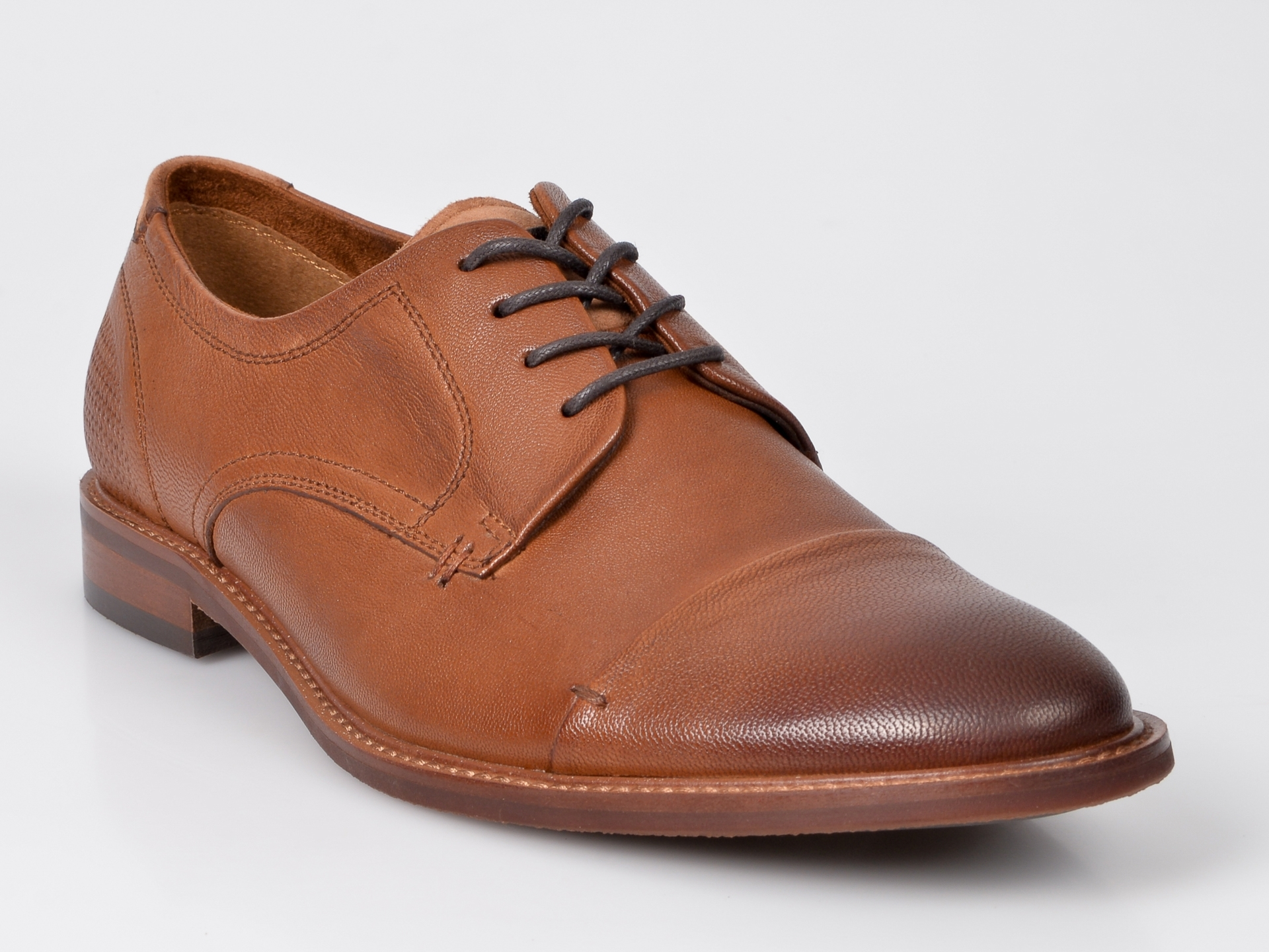 Pantofi ALDO maro, Cradowen, din piele naturala imagine