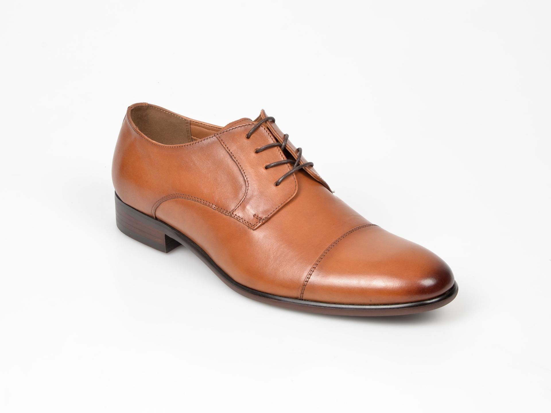 Pantofi ALDO maro, Galerrang-r, din piele naturala imagine