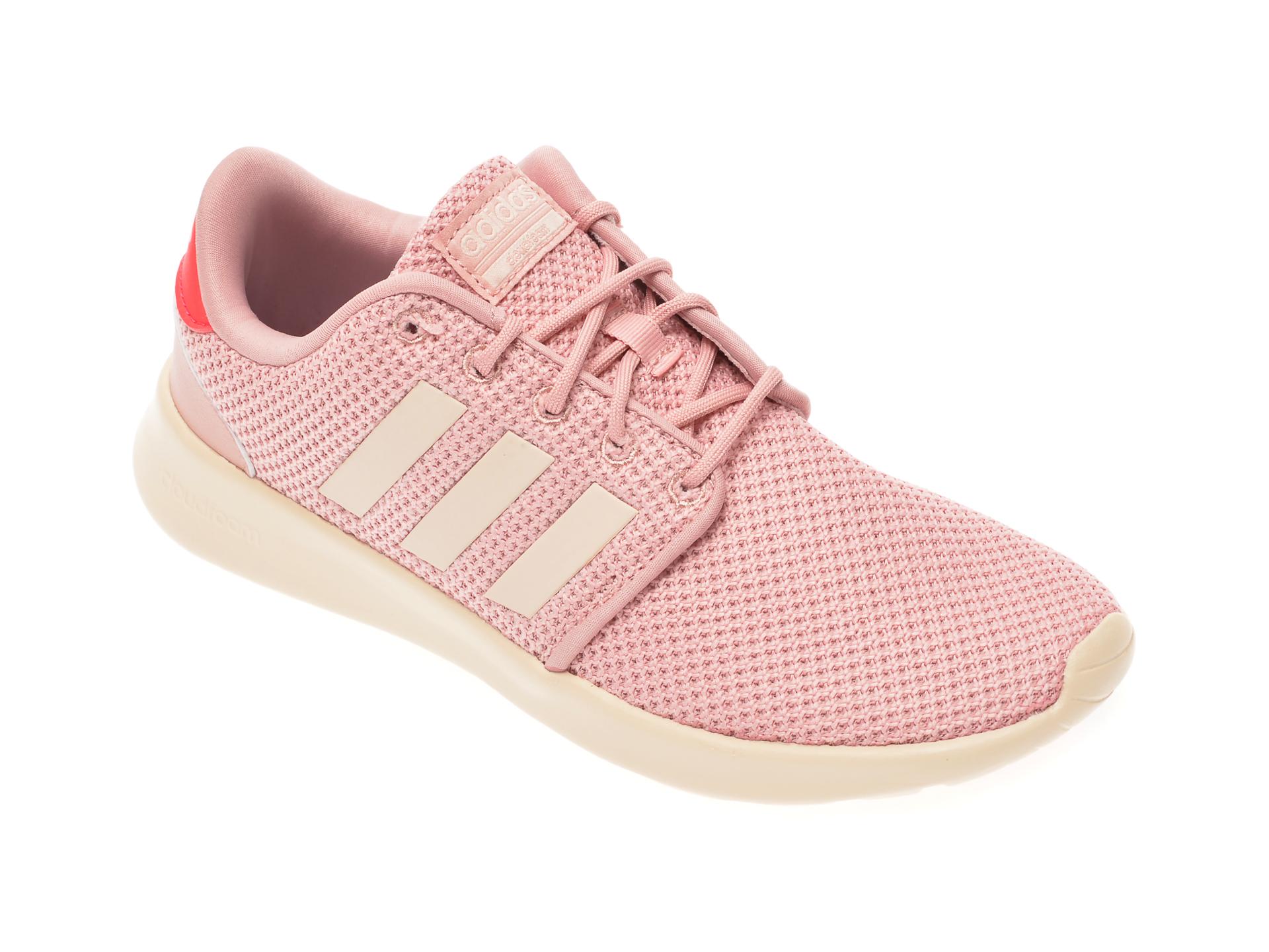Pantofi Adidas Roz, Qt Racer, Din Material Textil
