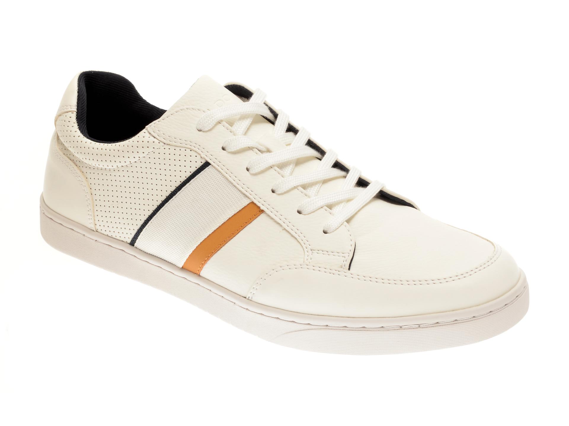 Pantofi ALDO albi, Assimilis100, din piele ecologica imagine