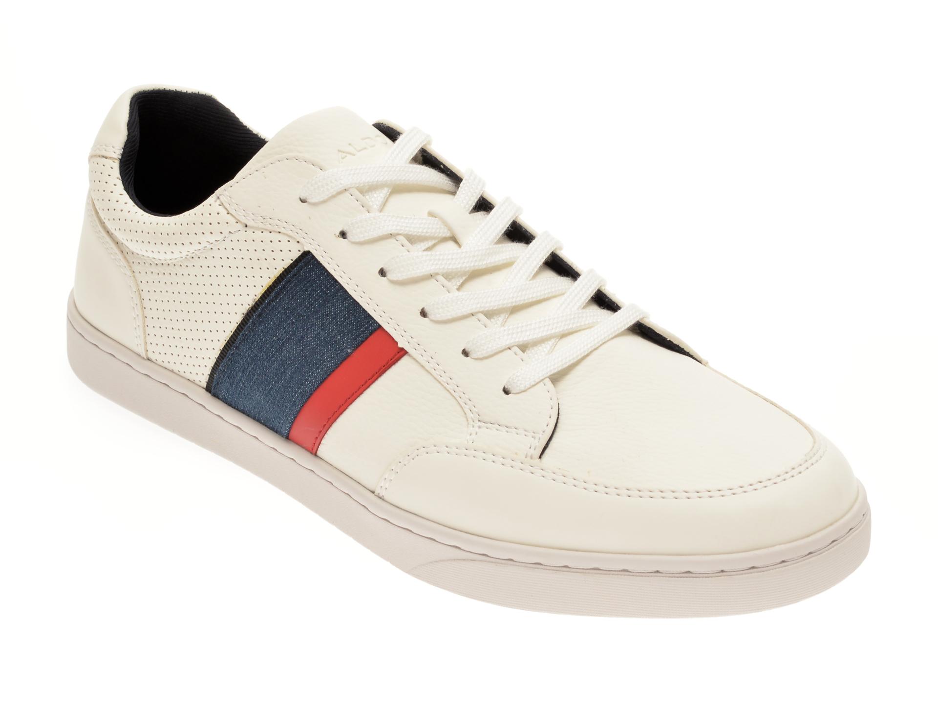 Pantofi ALDO albi, Assimilis112, din piele ecologica New