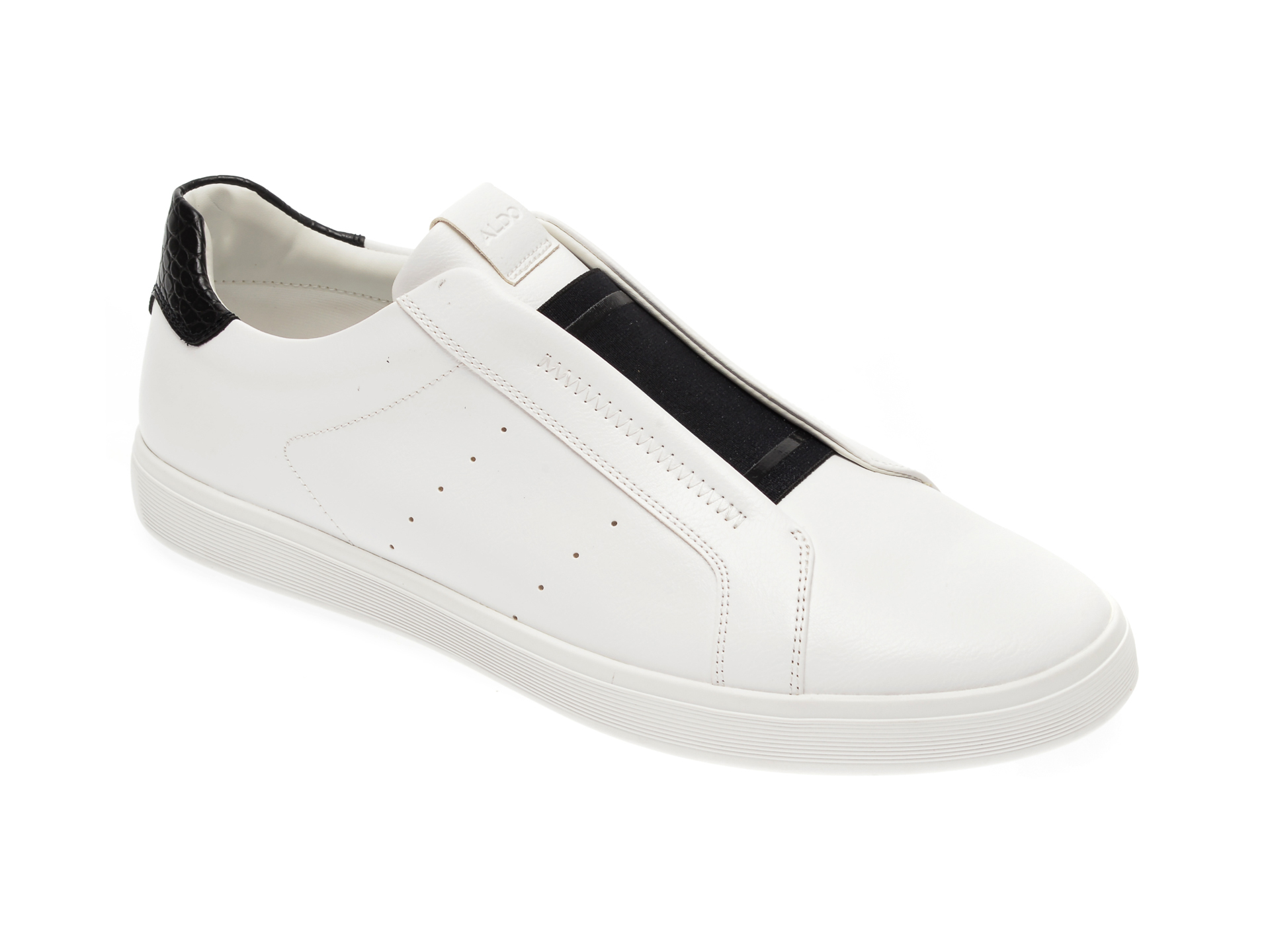 Pantofi ALDO albi, Boomerang100, din piele ecologica imagine otter.ro