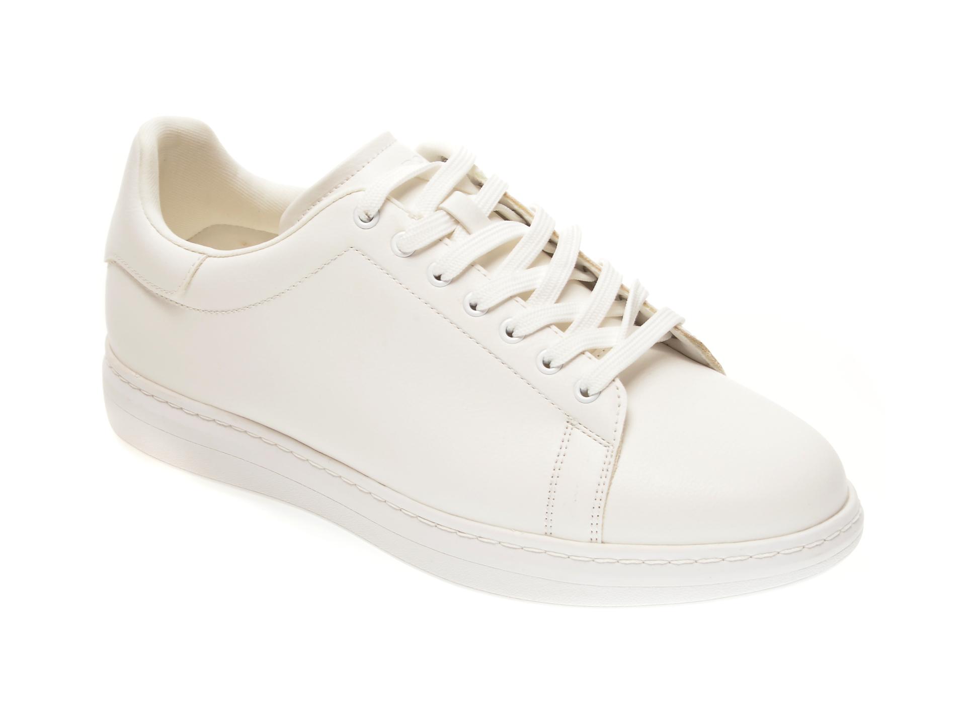 Pantofi ALDO albi, Dallyn100, din piele ecologica imagine