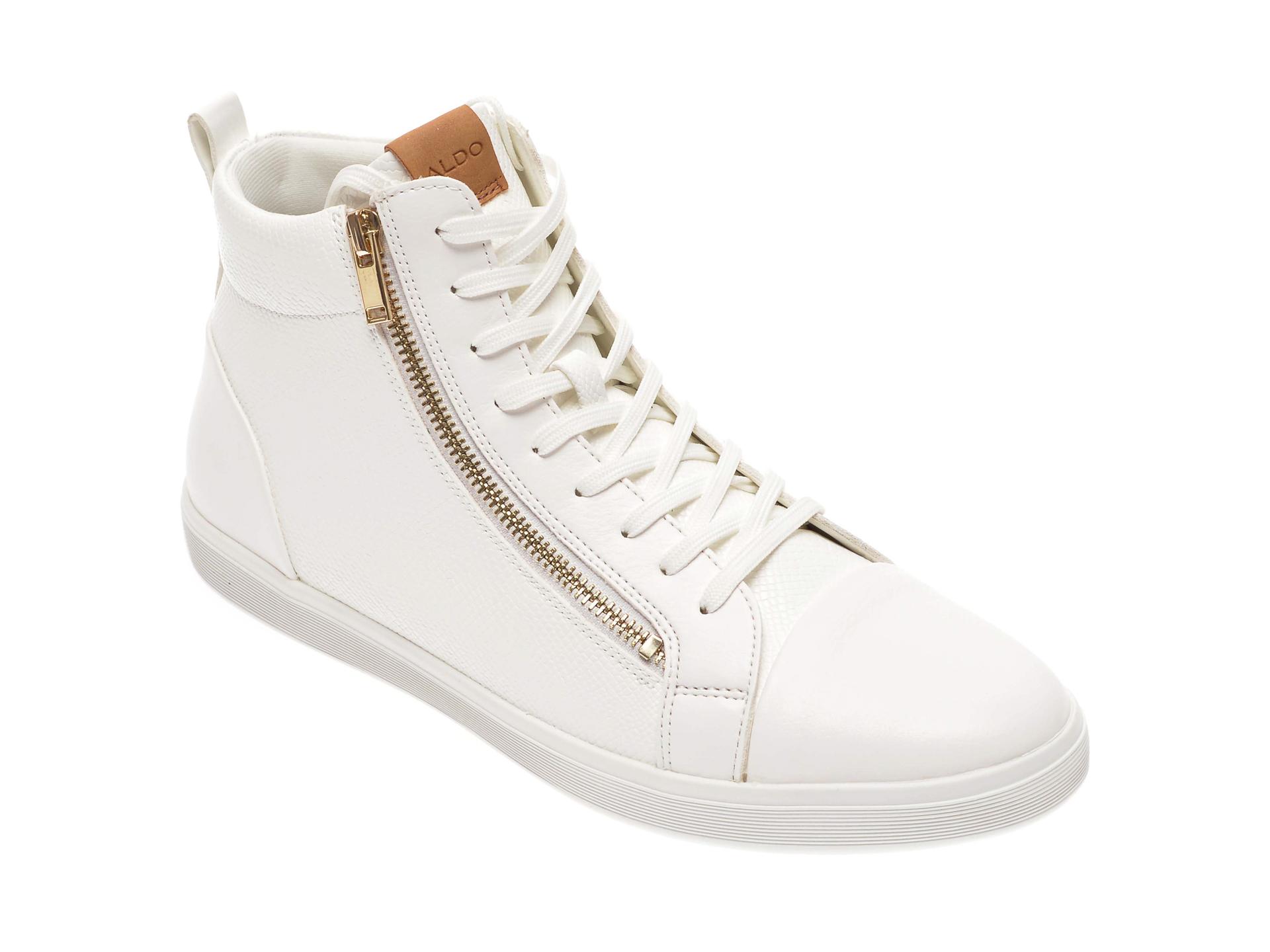 Pantofi ALDO albi, Kelston100, din piele ecologica New