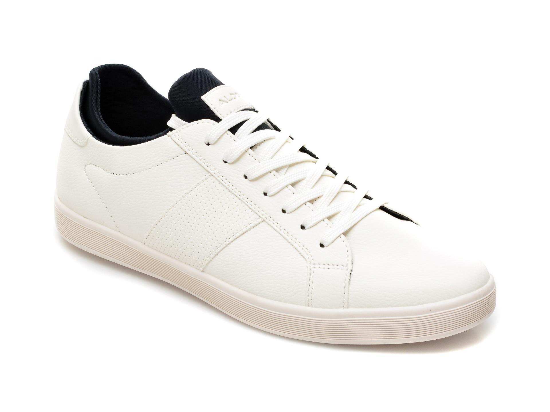 Pantofi ALDO albi, Prayrien100, din piele ecologica imagine