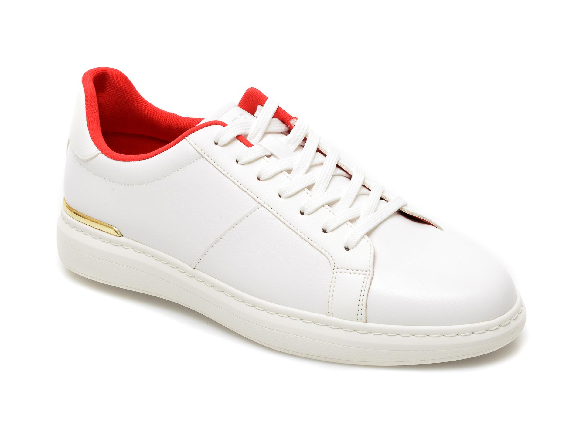 Pantofi ALDO albi, Tosien100, din piele ecologica imagine