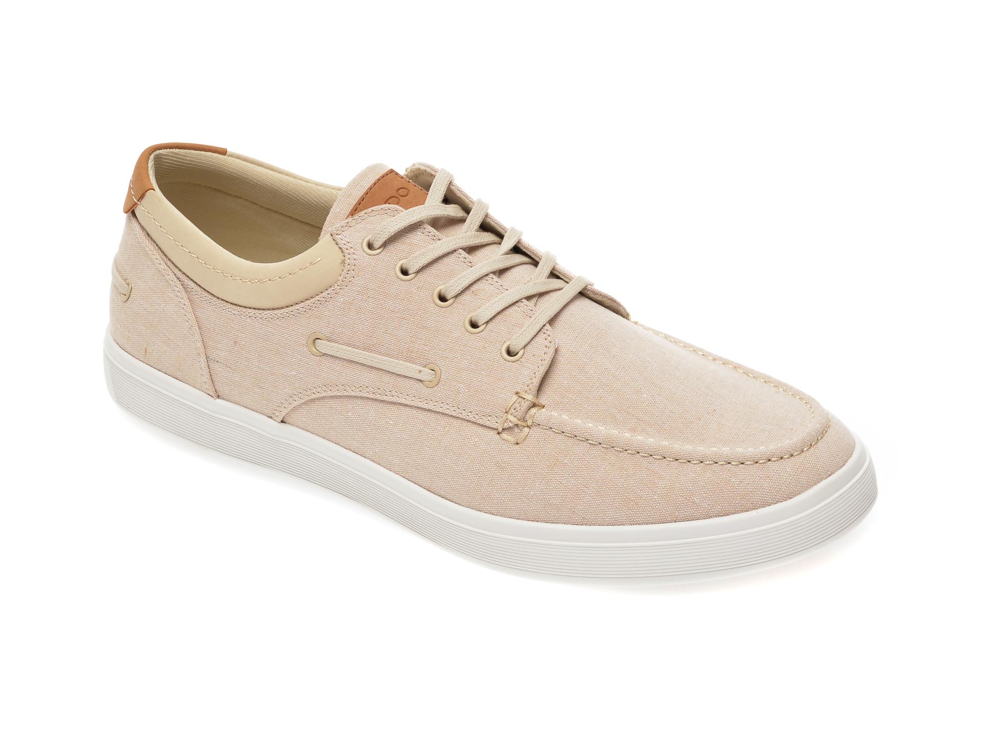 Pantofi ALDO bej, Bridleholme271, din material textil imagine