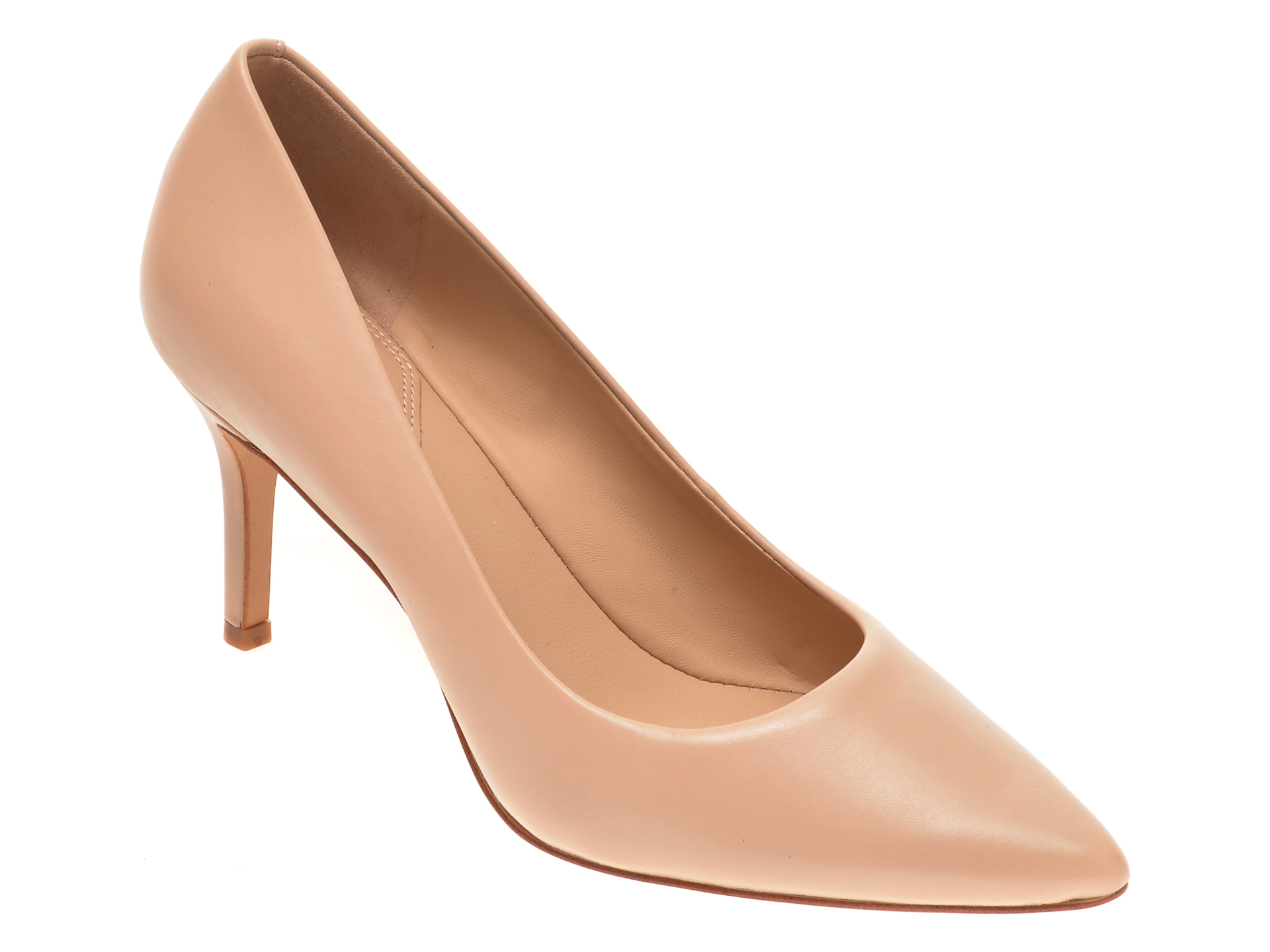 Pantofi ALDO bej, Coronitiflex270, din piele naturala imagine otter.ro