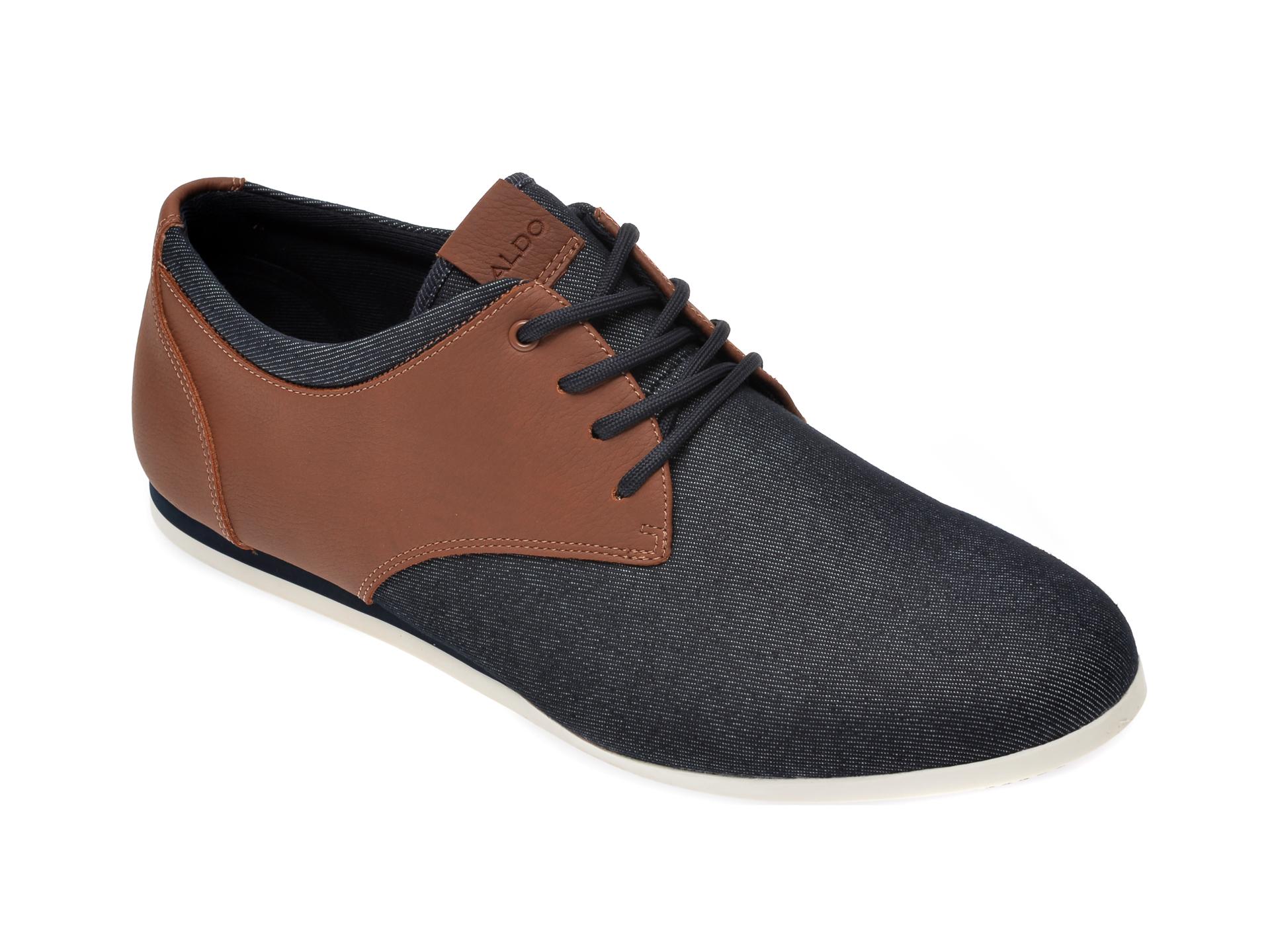 Pantofi ALDO bleumarin, Aauwen-R410, din material textil imagine