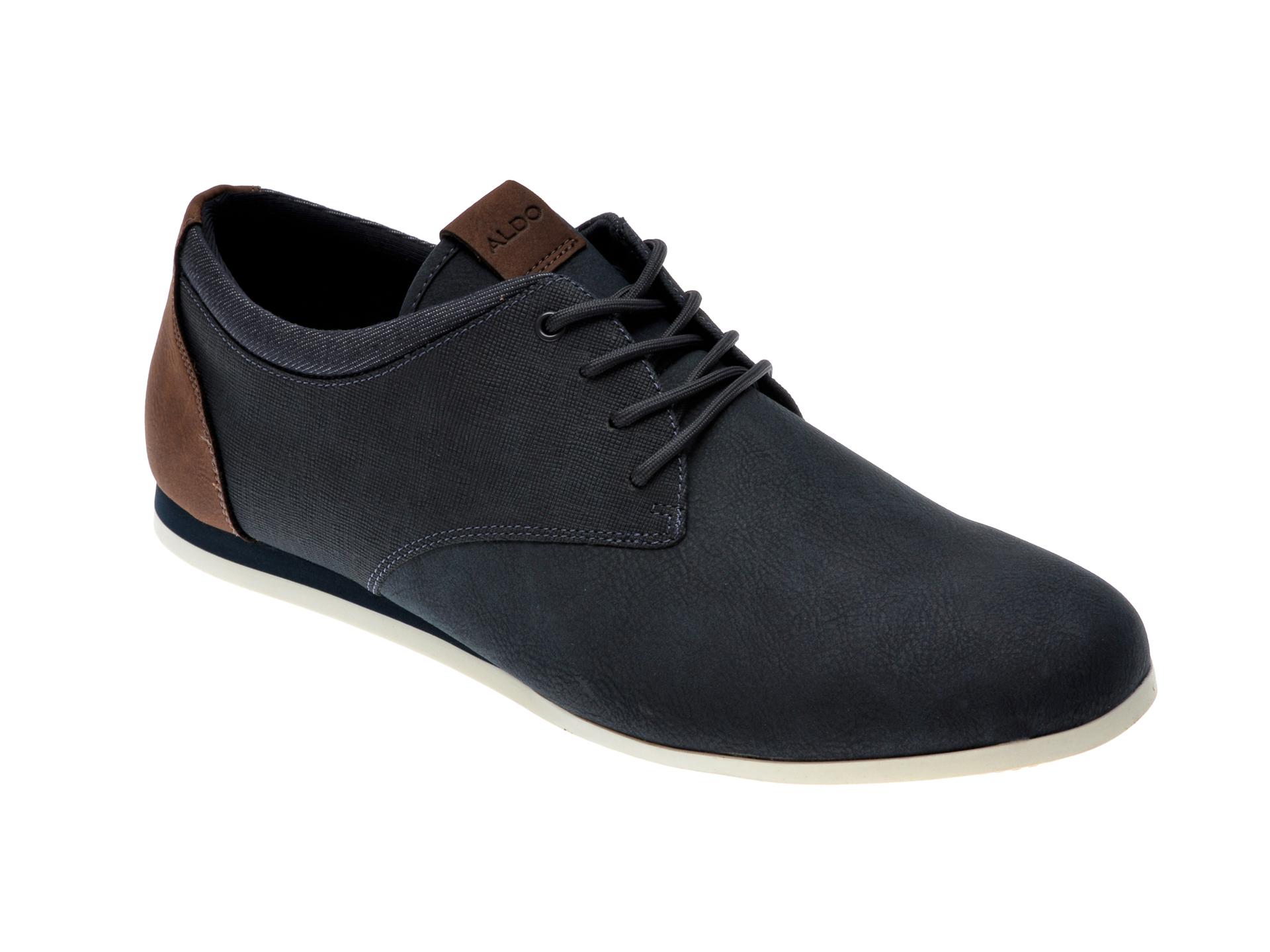 Pantofi ALDO bleumarin, Aauwen-R412, din piele ecologica imagine