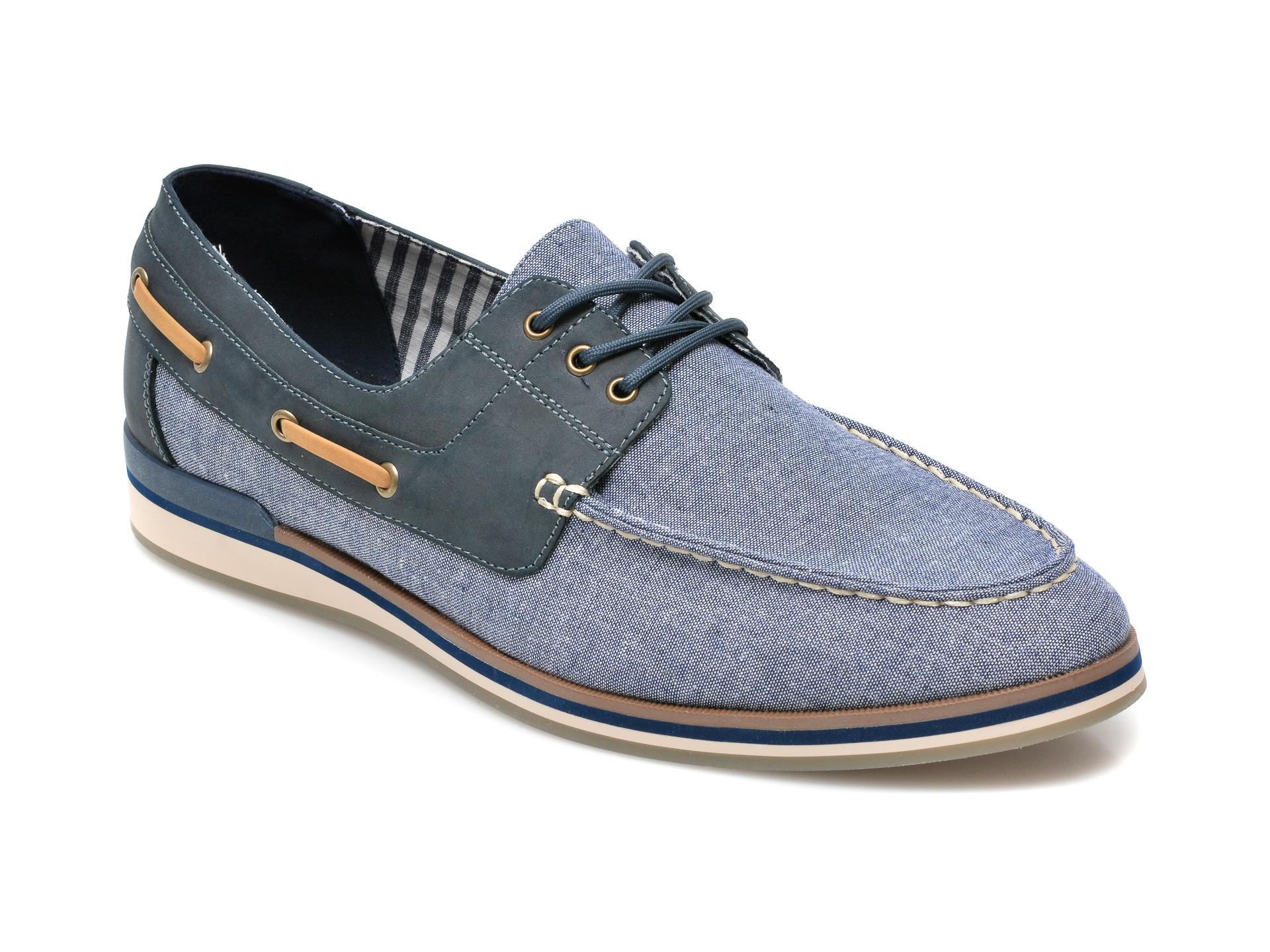 Pantofi Aldo Bleumarin, Bohor410, Din Material Textil