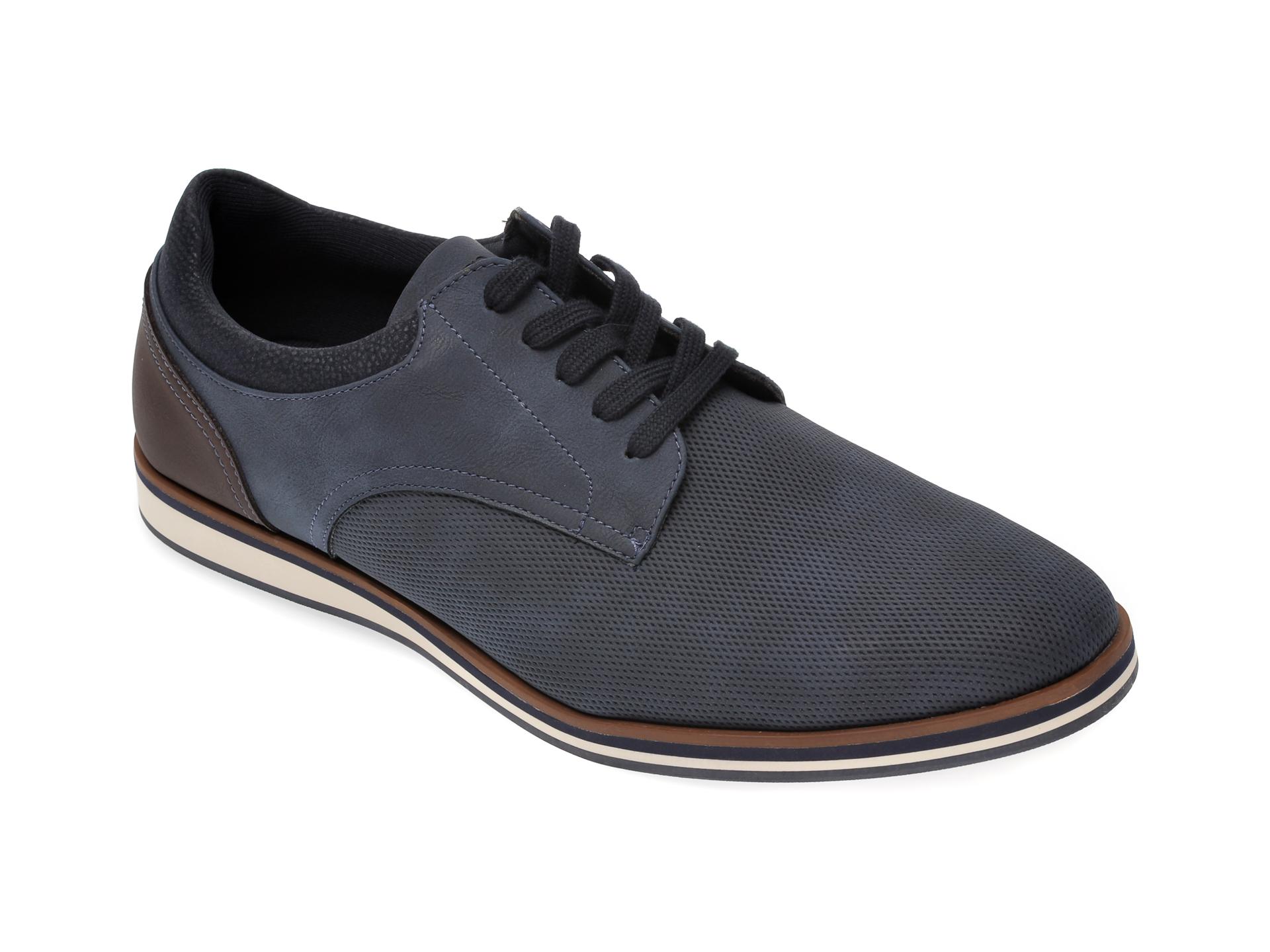 Pantofi ALDO bleumarin, Cycia410, din piele ecologica imagine