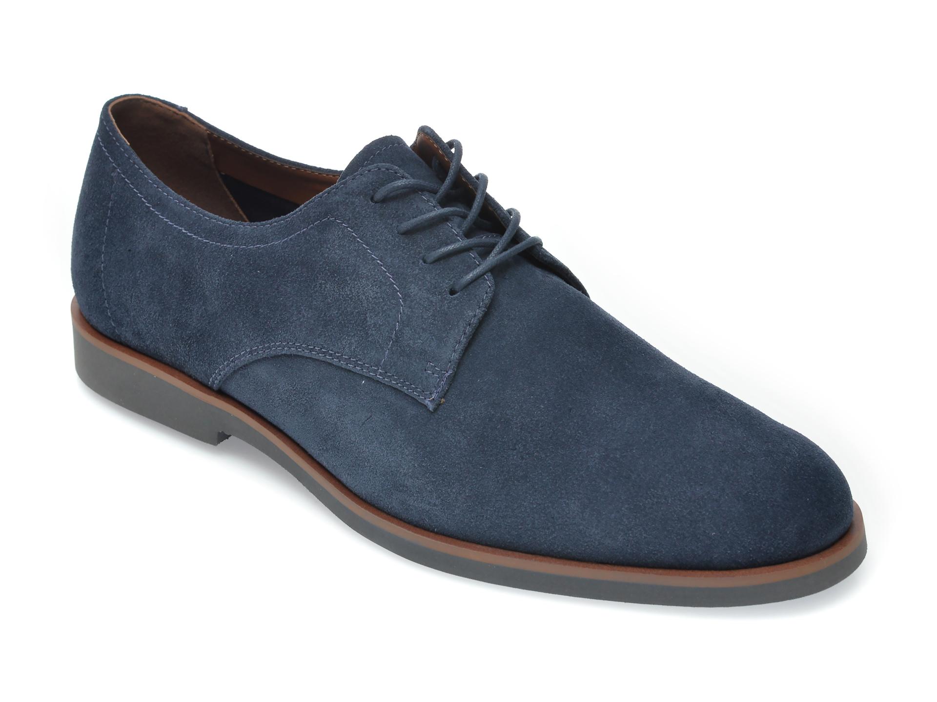 Pantofi ALDO bleumarin, Dautovo410, din piele intoarsa imagine
