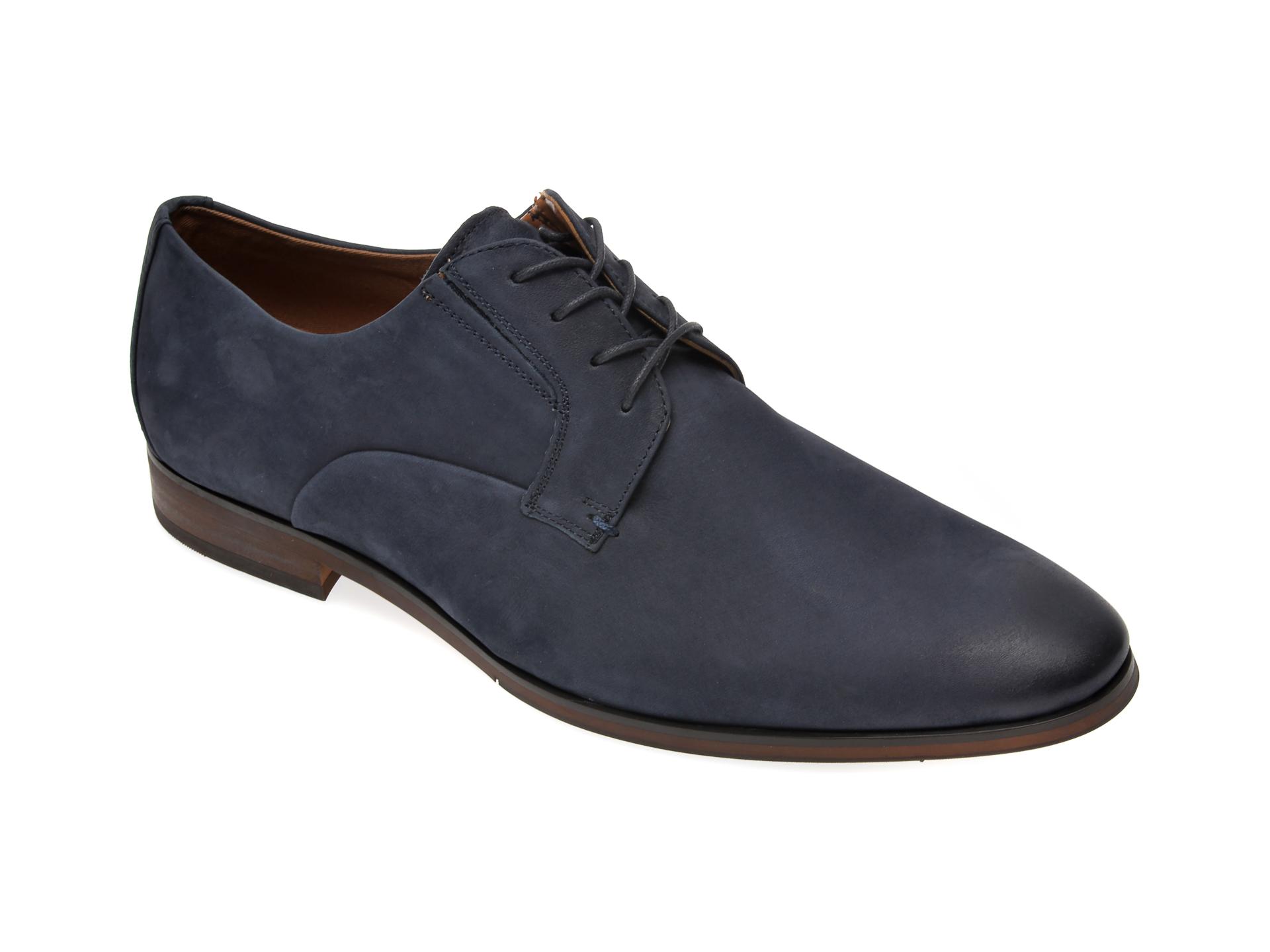 Pantofi ALDO bleumarin, Eowelalian410, din nabuc imagine