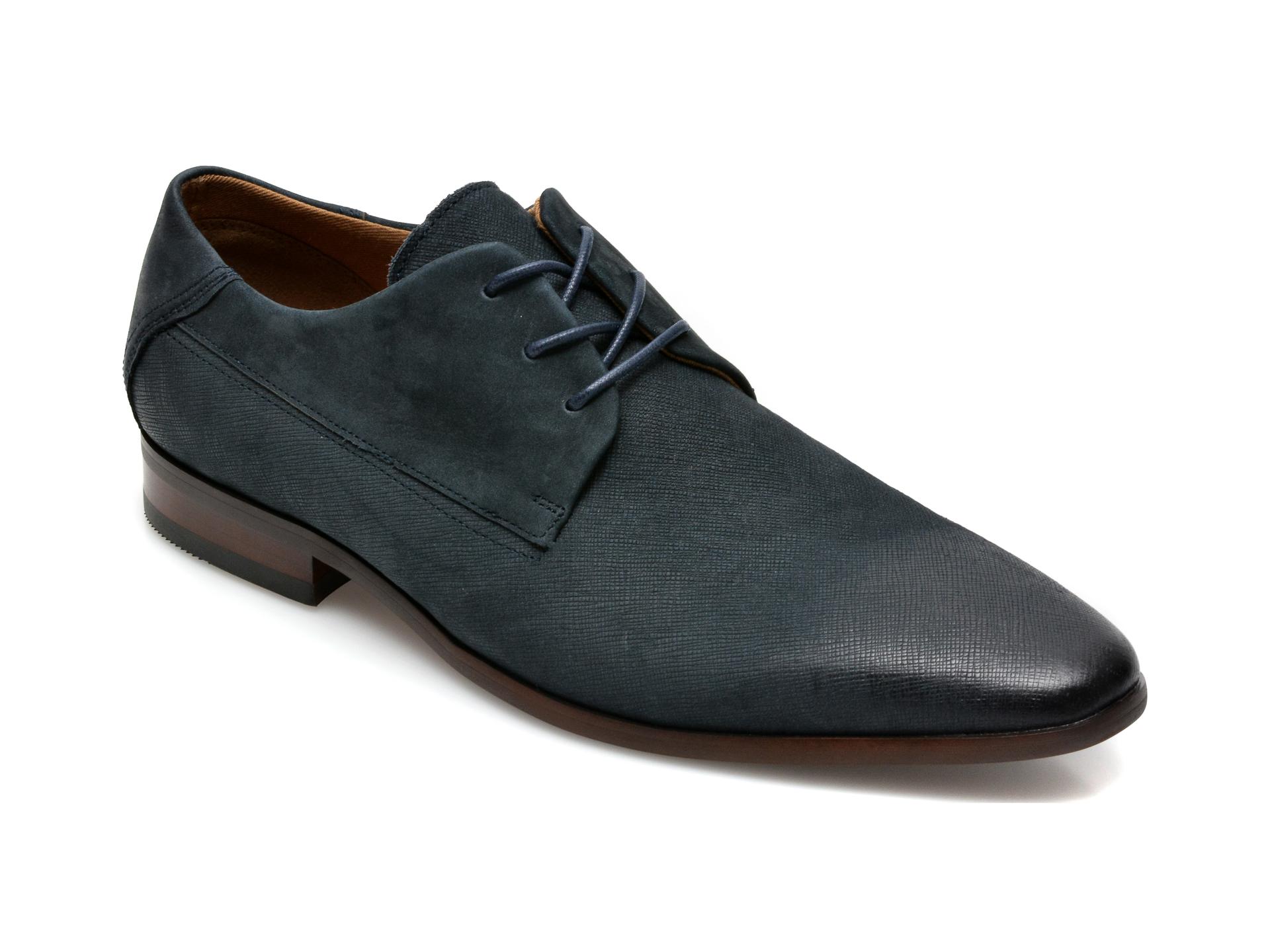 Pantofi ALDO bleumarin, Hoogeflex410, din nabuc imagine otter.ro 2021