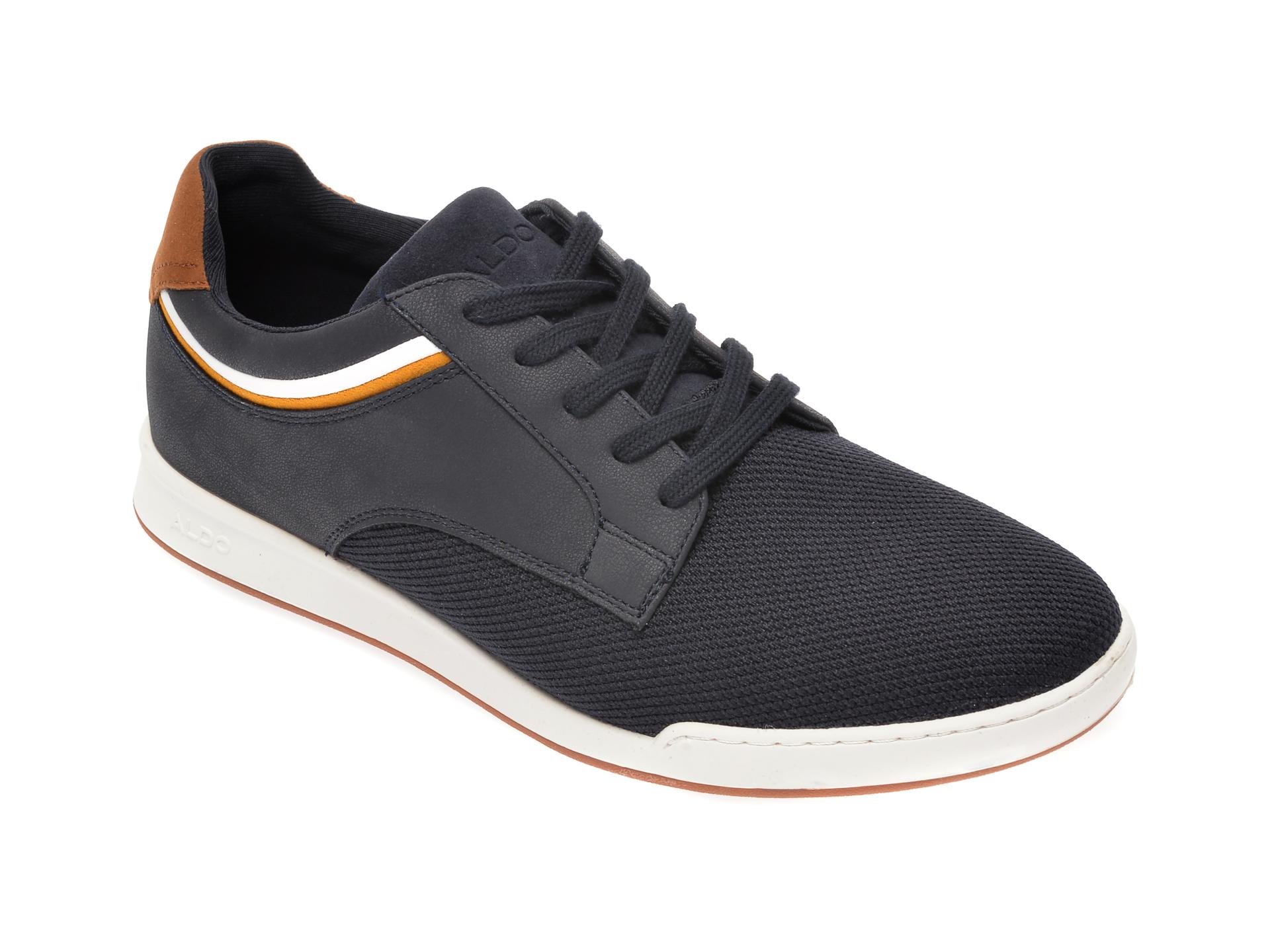 Pantofi ALDO bleumarin, Jeanluc410, din material textil imagine