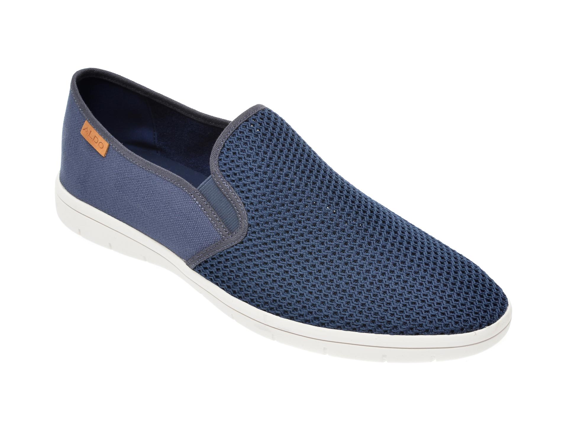 Pantofi ALDO bleumarin, Liberace410, din material textil imagine