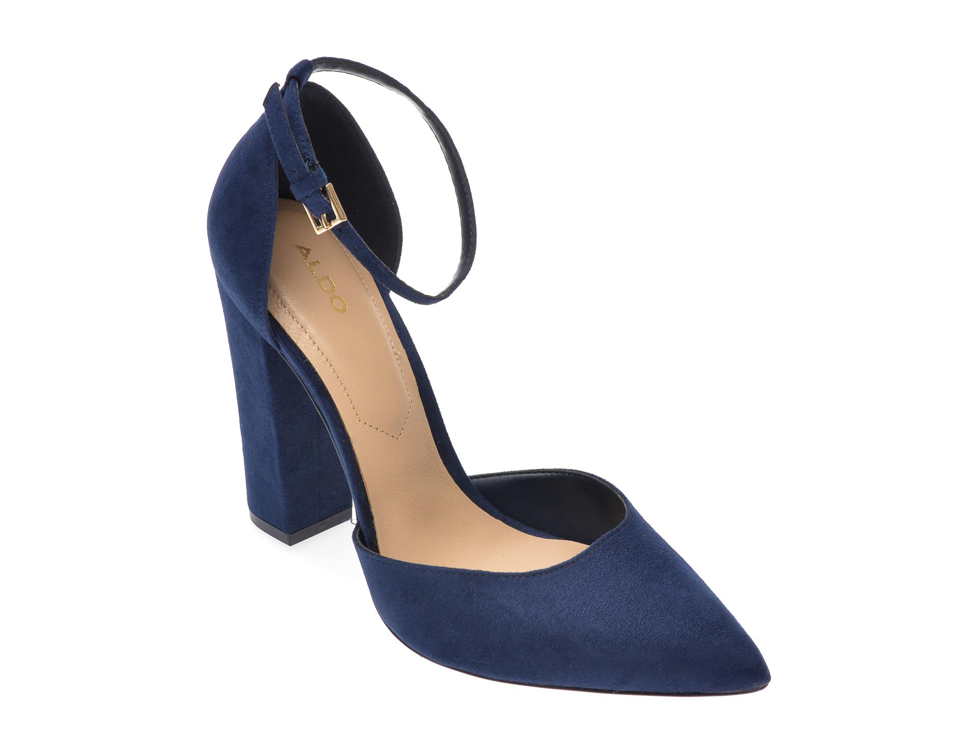 Pantofi ALDO bleumarin, Nicholes410, din piele ecologica imagine otter.ro 2021