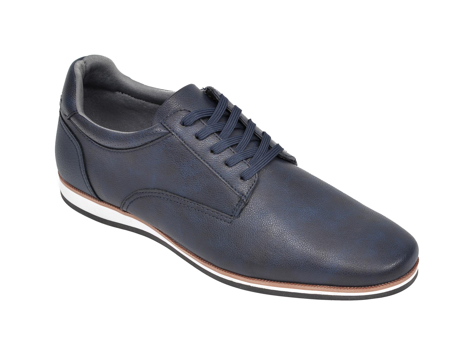 Pantofi ALDO bleumarin, Toppole969, din piele ecologica imagine