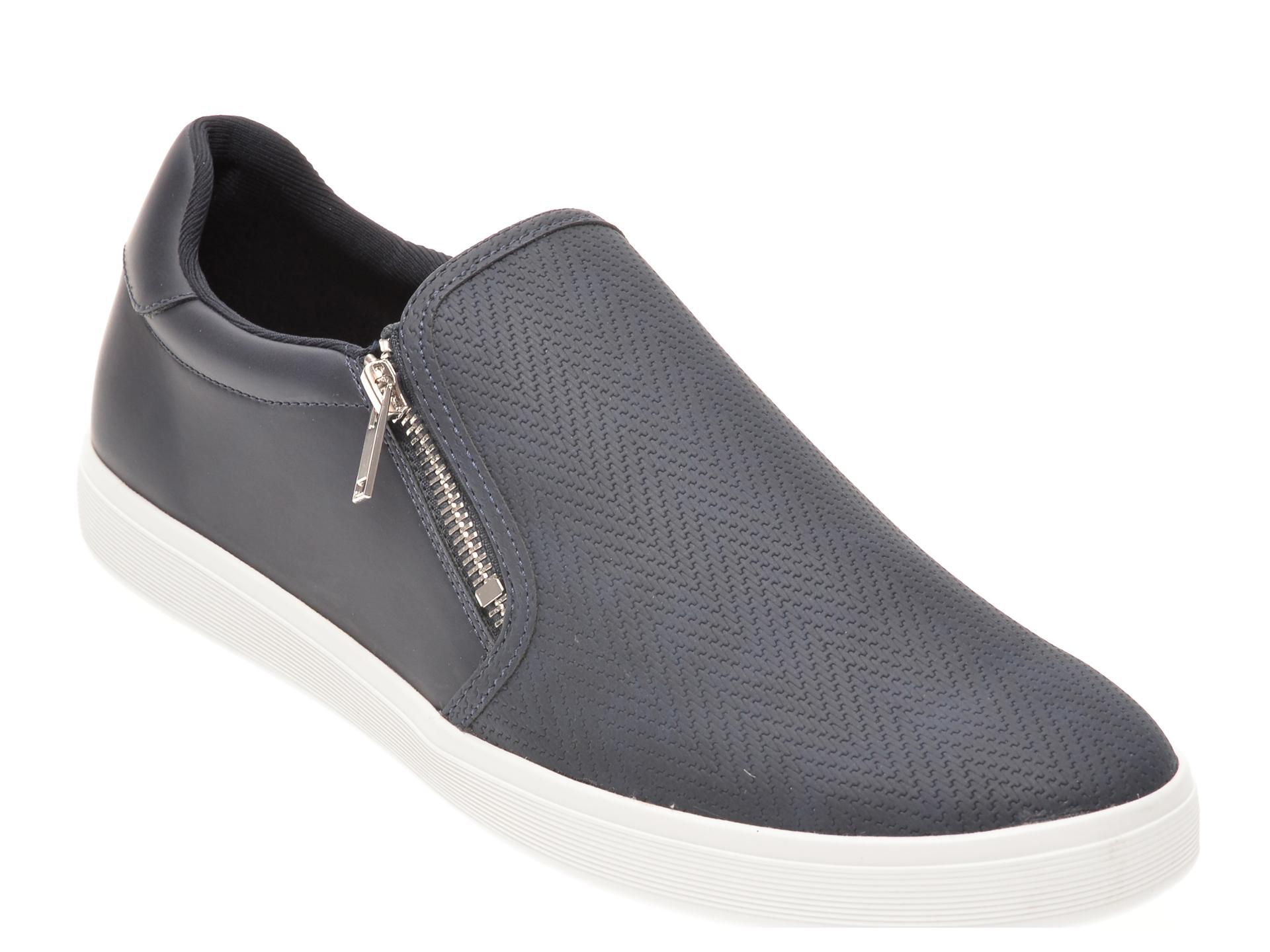 Pantofi Aldo Bleumarin, Venusweg410, Din Piele Ecologica