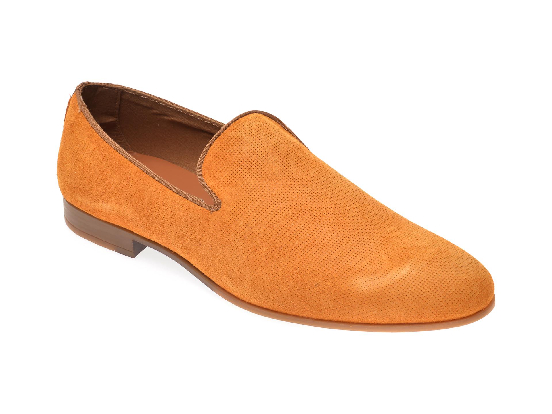 Pantofi ALDO galbeni, Tralisien701, din piele intoarsa imagine